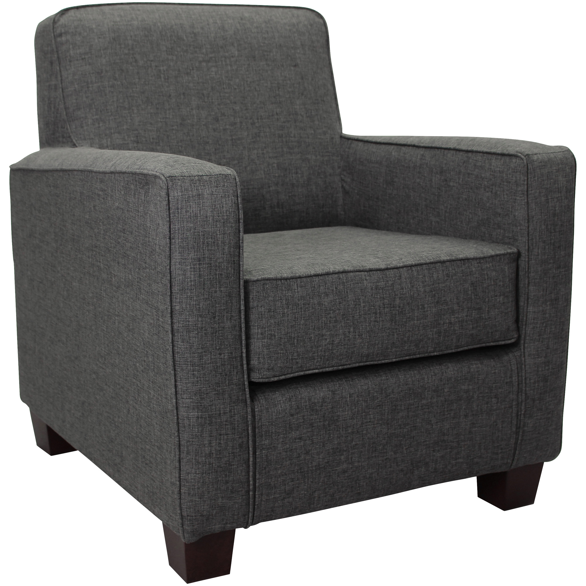 Overman | Johnston Gray Accent Chair