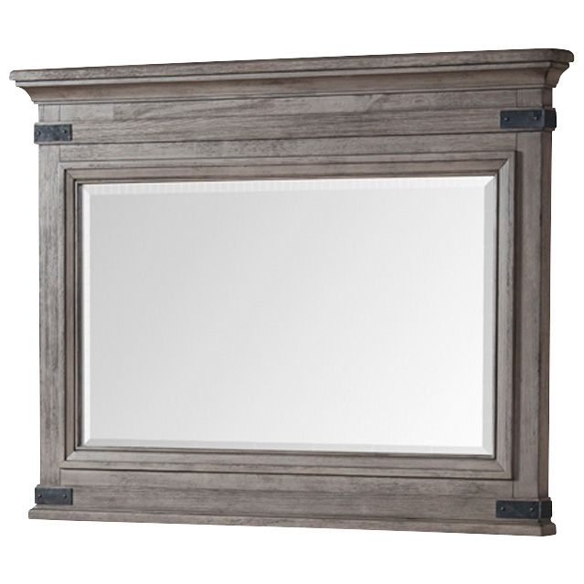 Intercon | Forge Brushed Steel Mirror