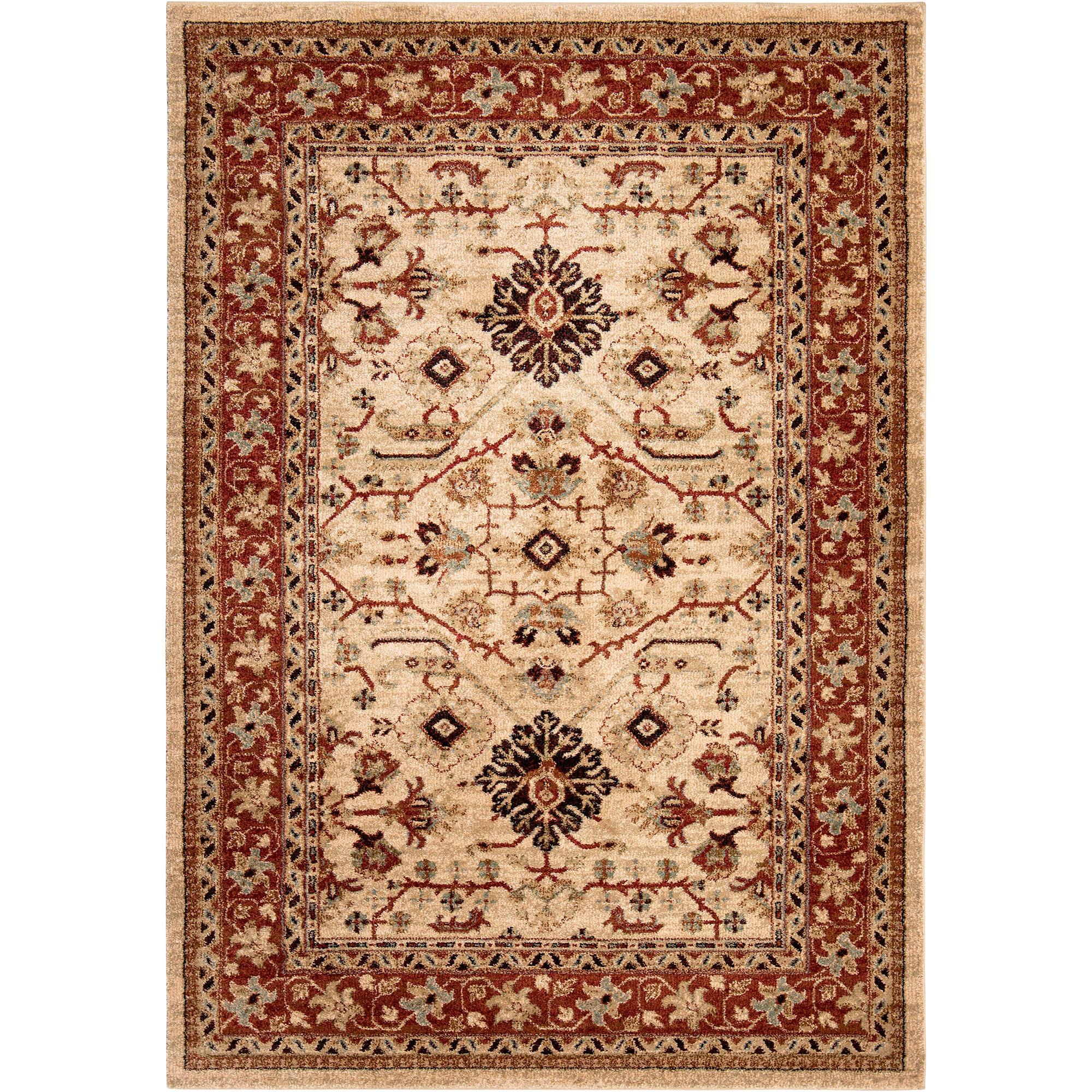 Orian | Aria Kashmir Bisque 8x10 Area Rug