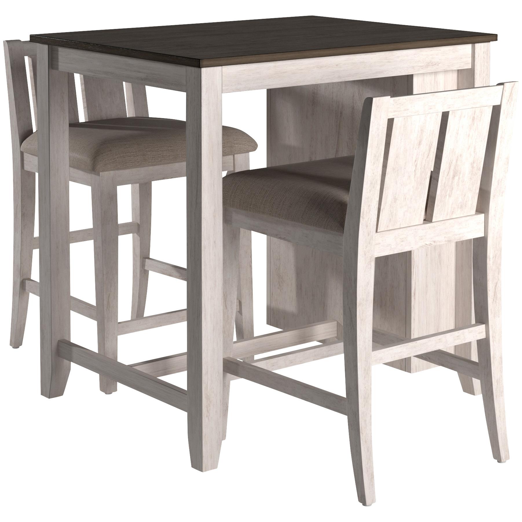 Topline | Mitchell Gray 3 Piece Dining Set