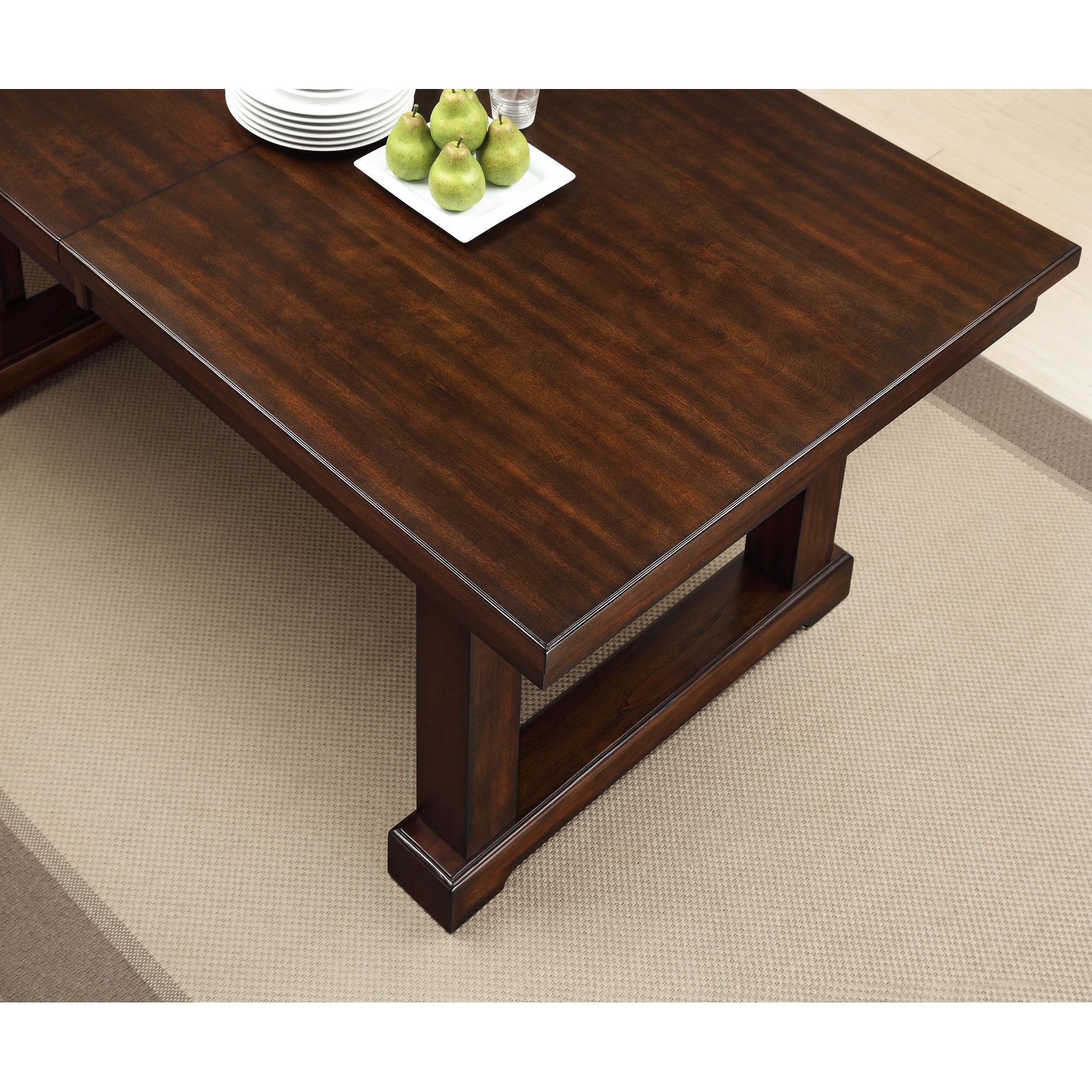 Apam | Graystone Espresso Dining Table | Dark Brown