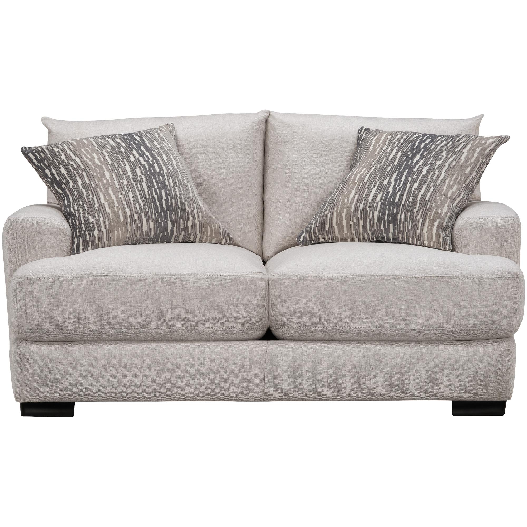 Franklin | Dutch Linen Loveseat Sofa