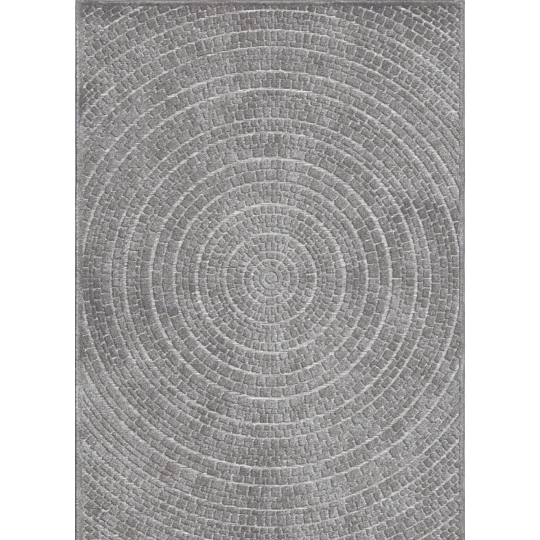 Orian | Boucle Sculpture Braid Silverton 5x8 Area Rug