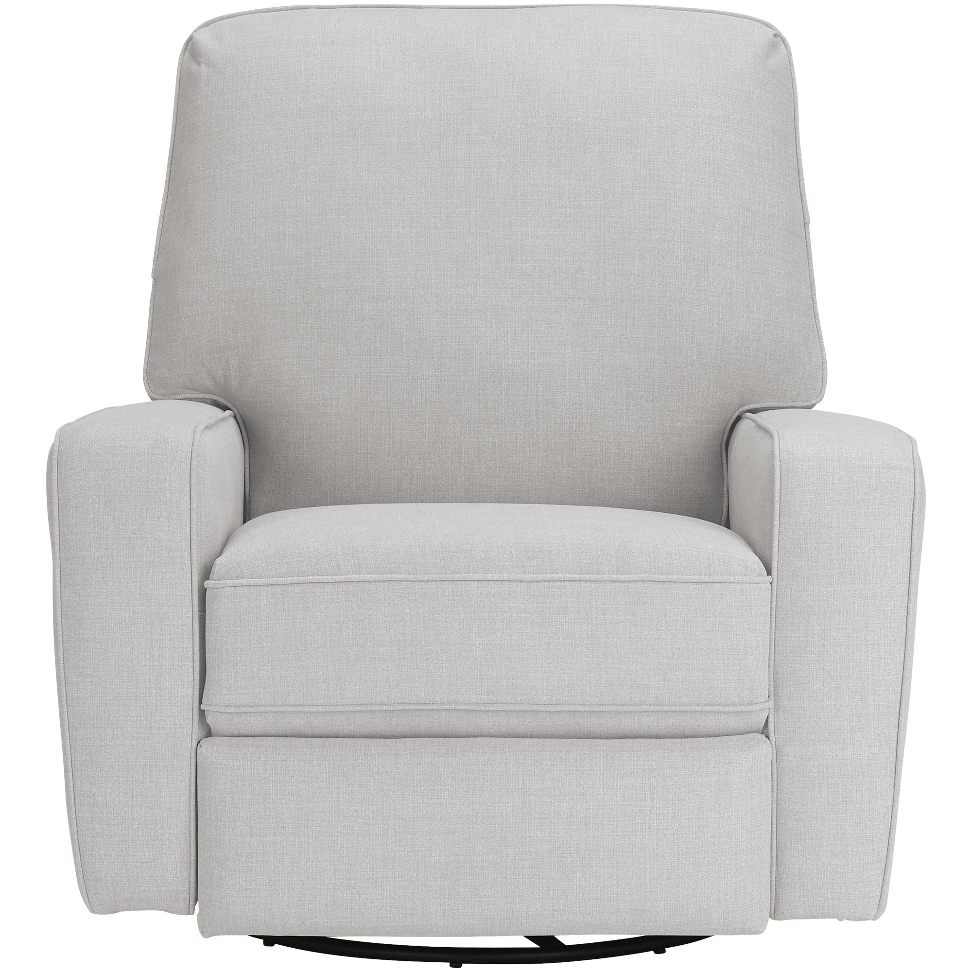 Best Home Furnishings | Bilana Eggshell Swivel Glide Recliner Chair