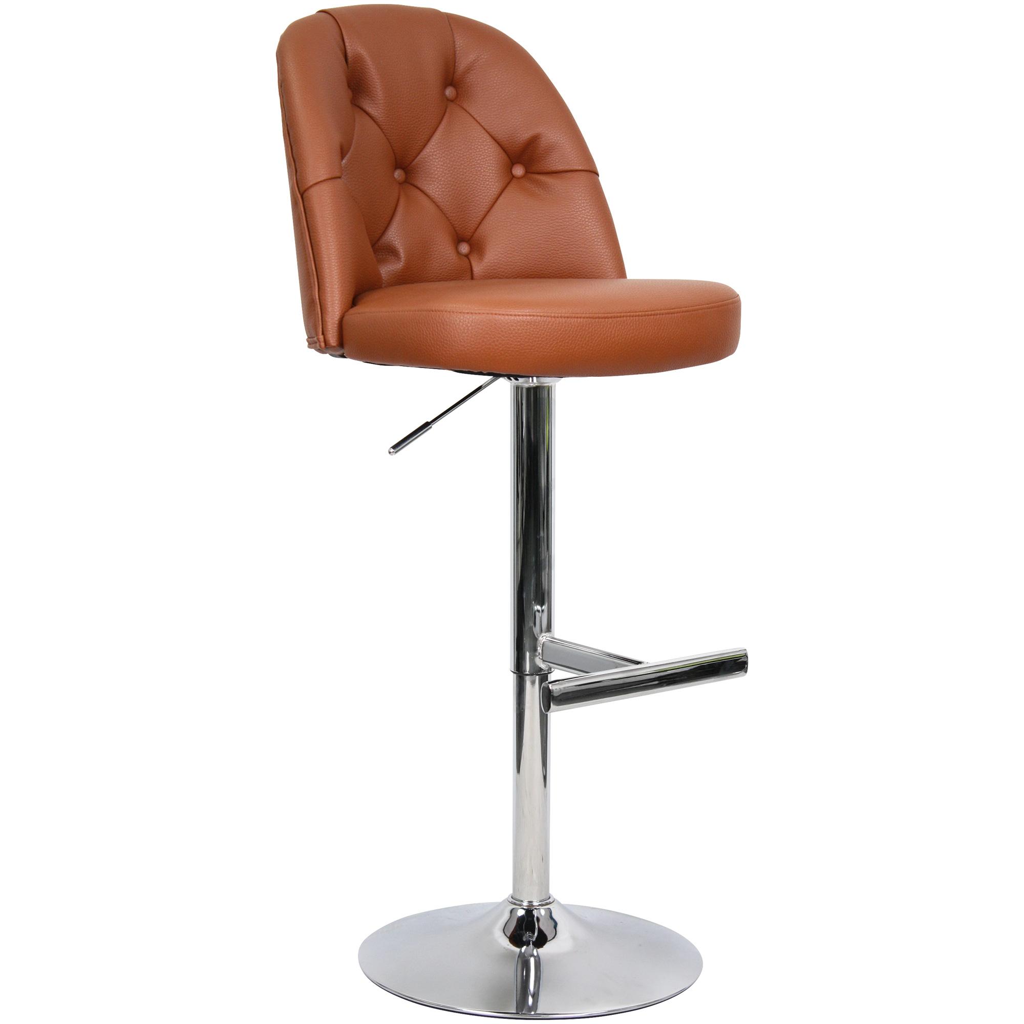 Whalen Furniture | Archer Saddle Adjustable Stool