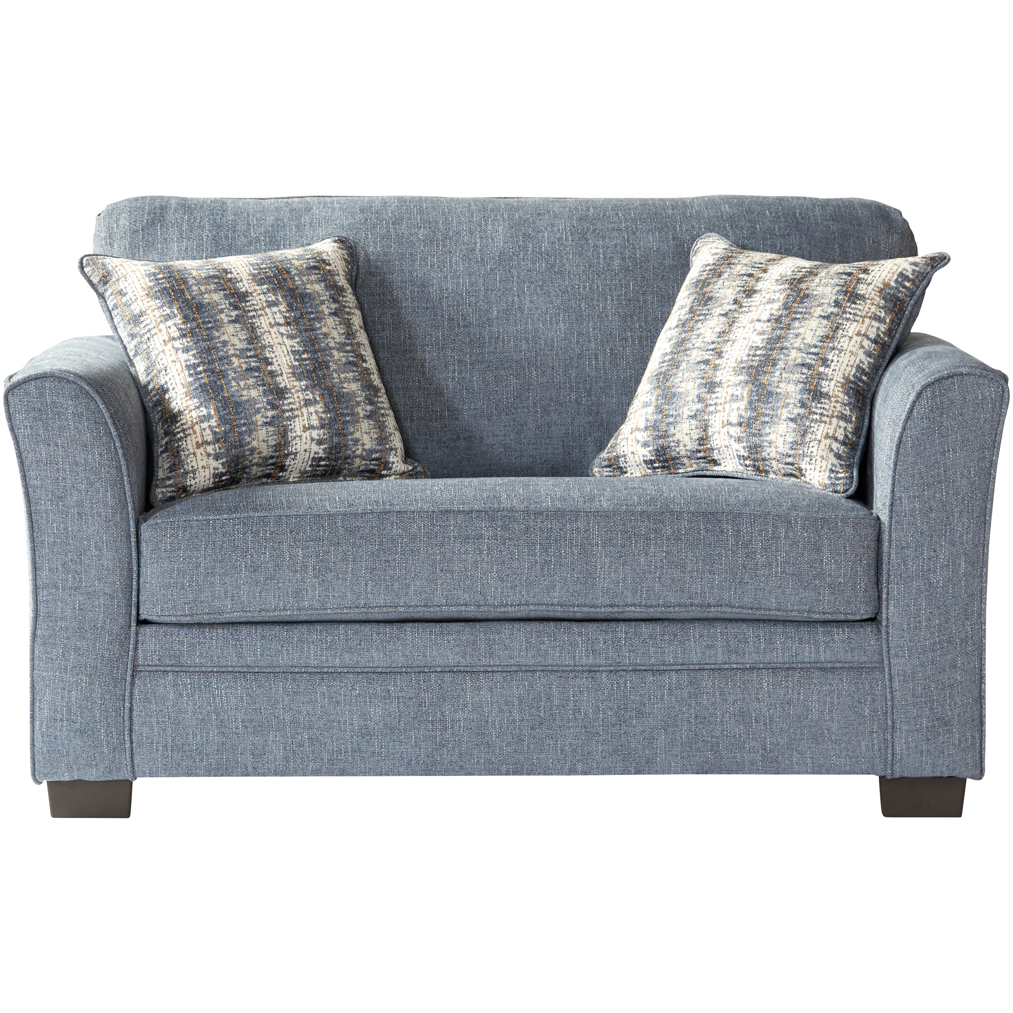 Serta Upholstery By Hughes Furniture | Bolster Ocean Twin Sleeper Sofa