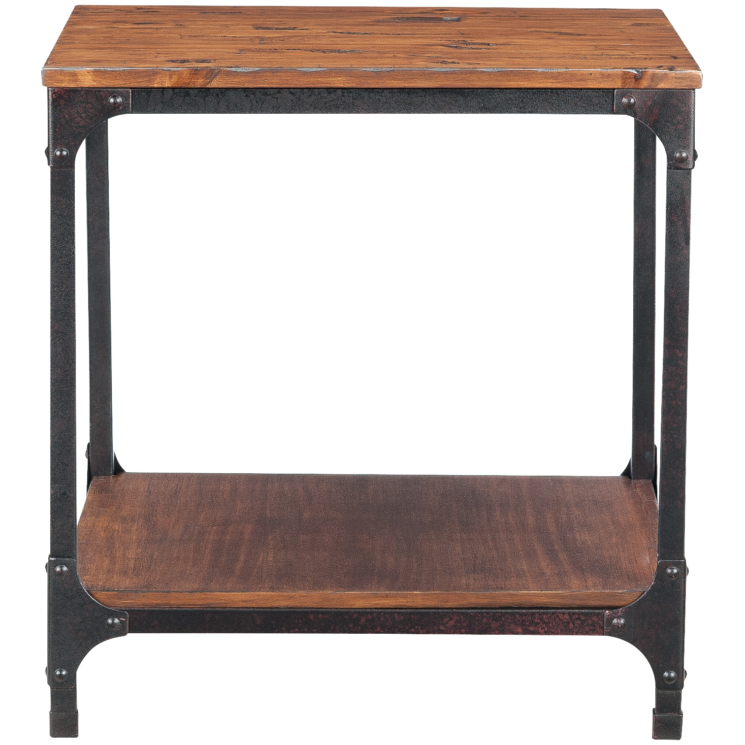 Jofran | Abbott Distressed Pine End Table