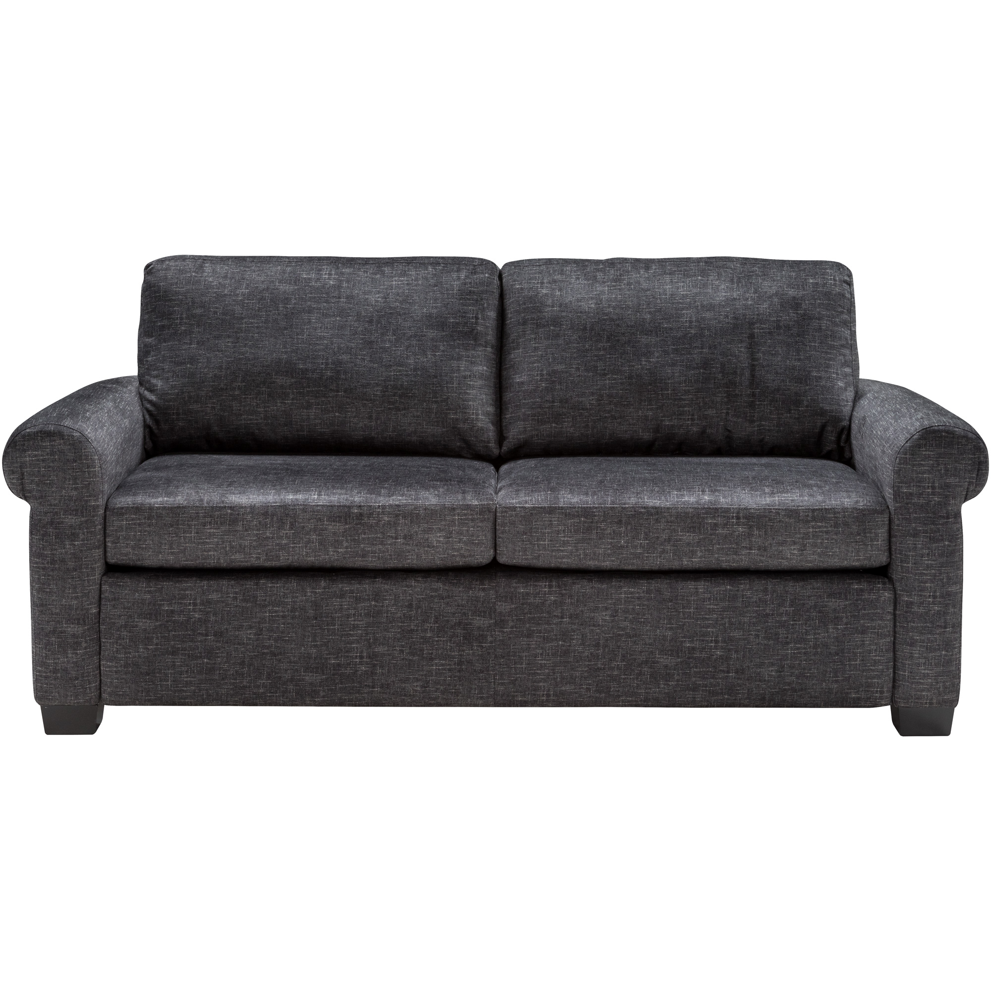 American Leather | Cortland Alton Charcoal Queen Sleeper Sofa
