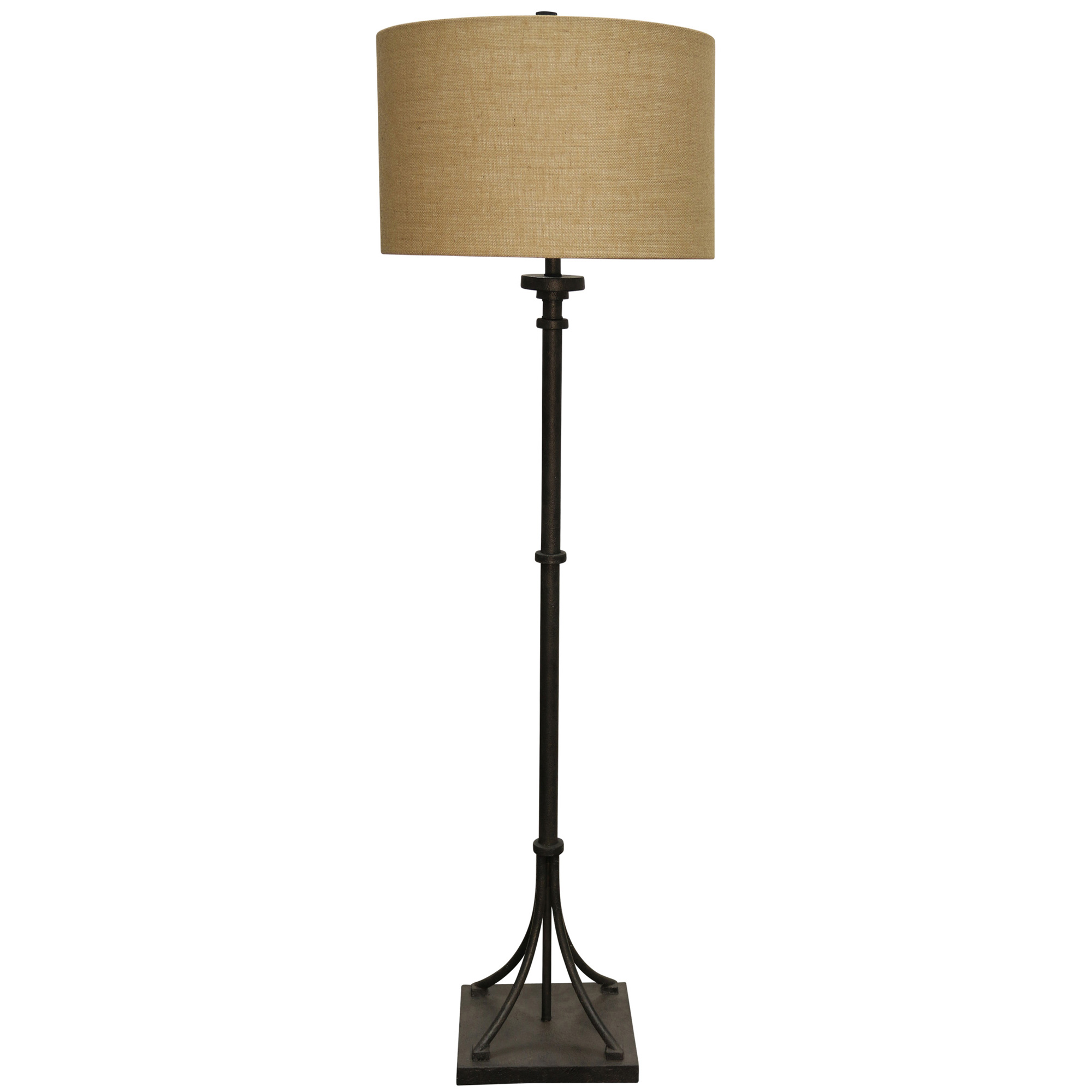 Stylecraft Home Collection | Greenfield Bronze Floor Lamp