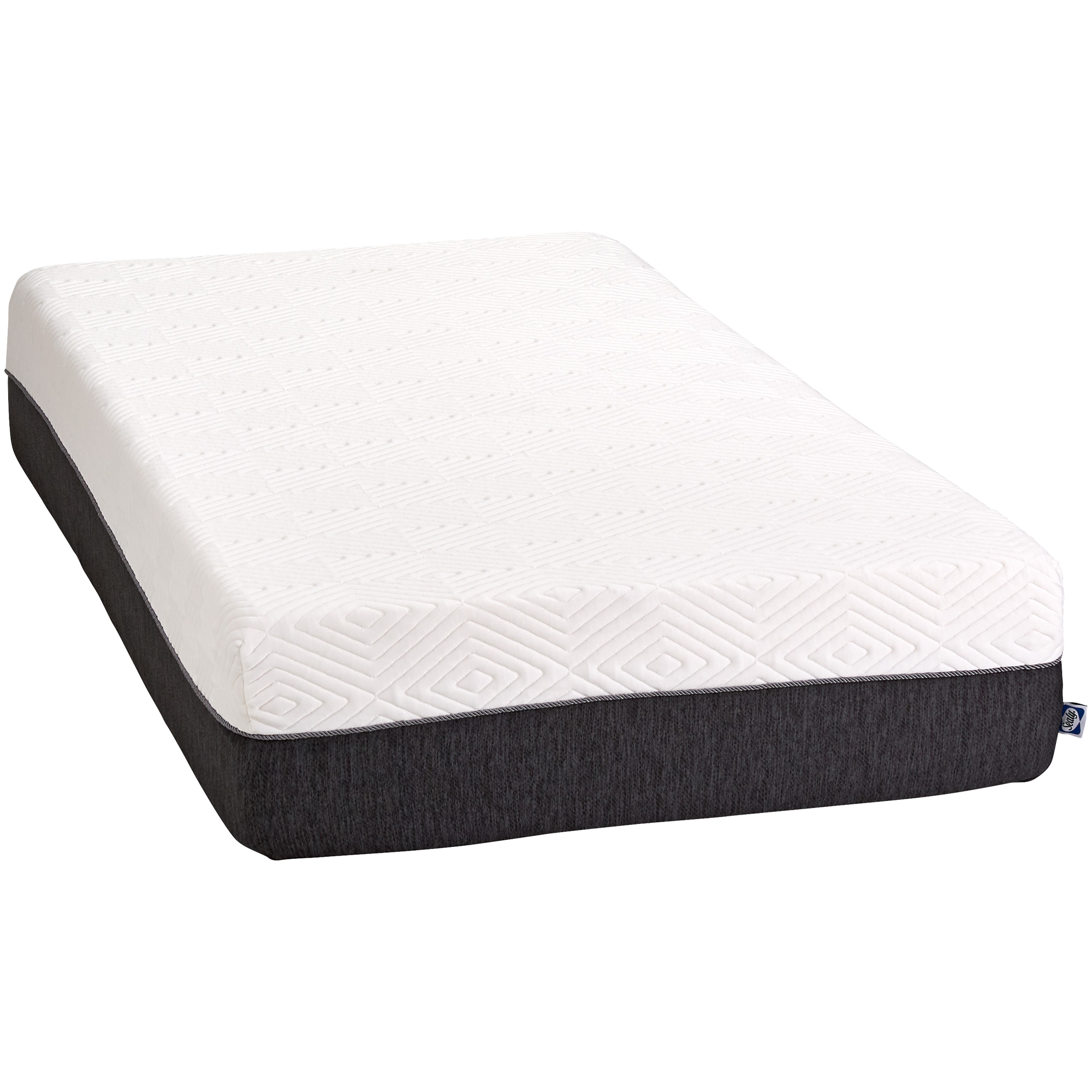 """Slumbercrest 12"""" Memory Foam Twin Mattress in a Box"""