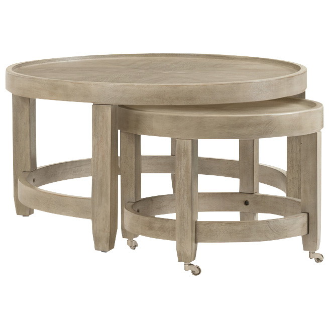 Bassett Mirror | Bellamy Gray Coffee Table