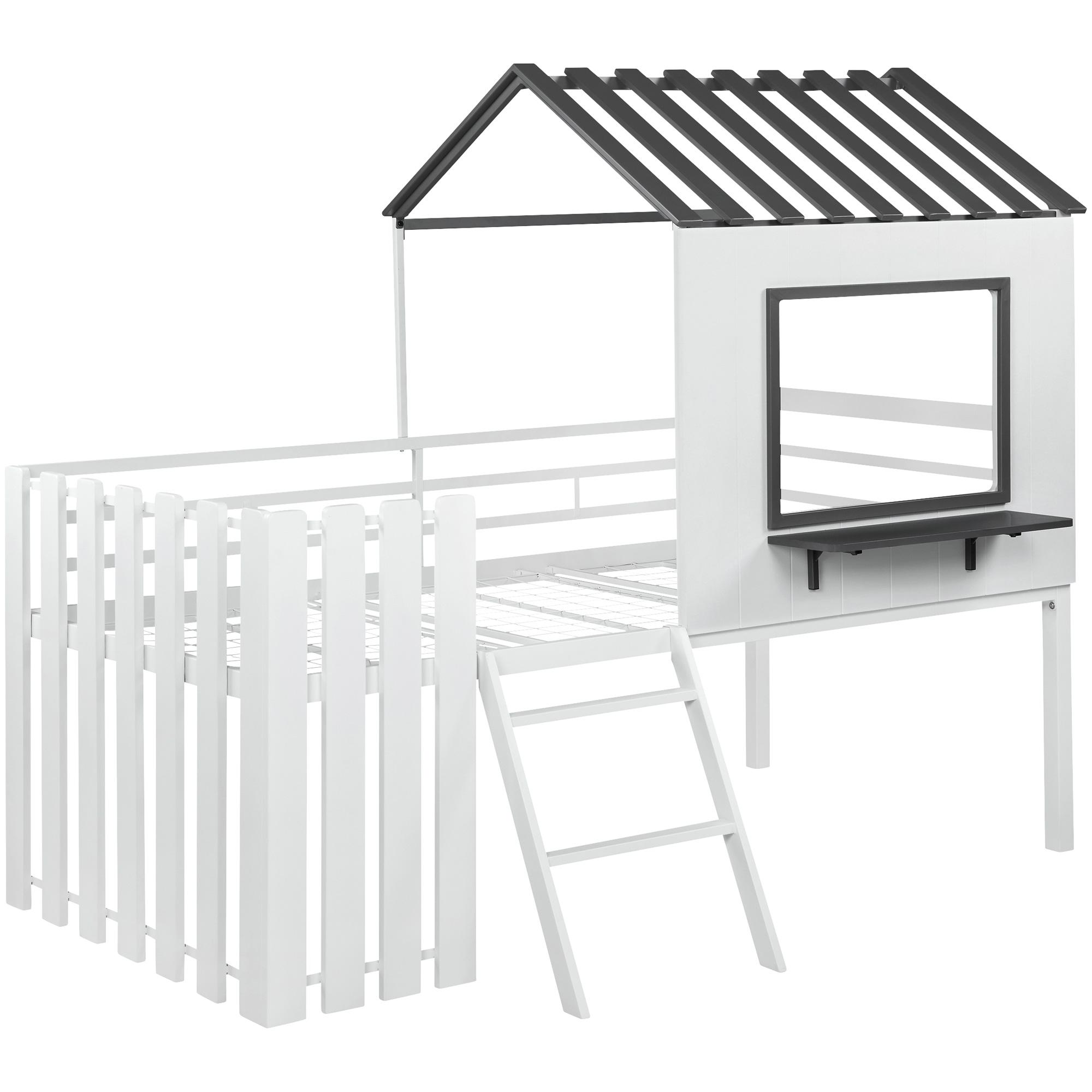 Coaster | Timber White Loft Bed