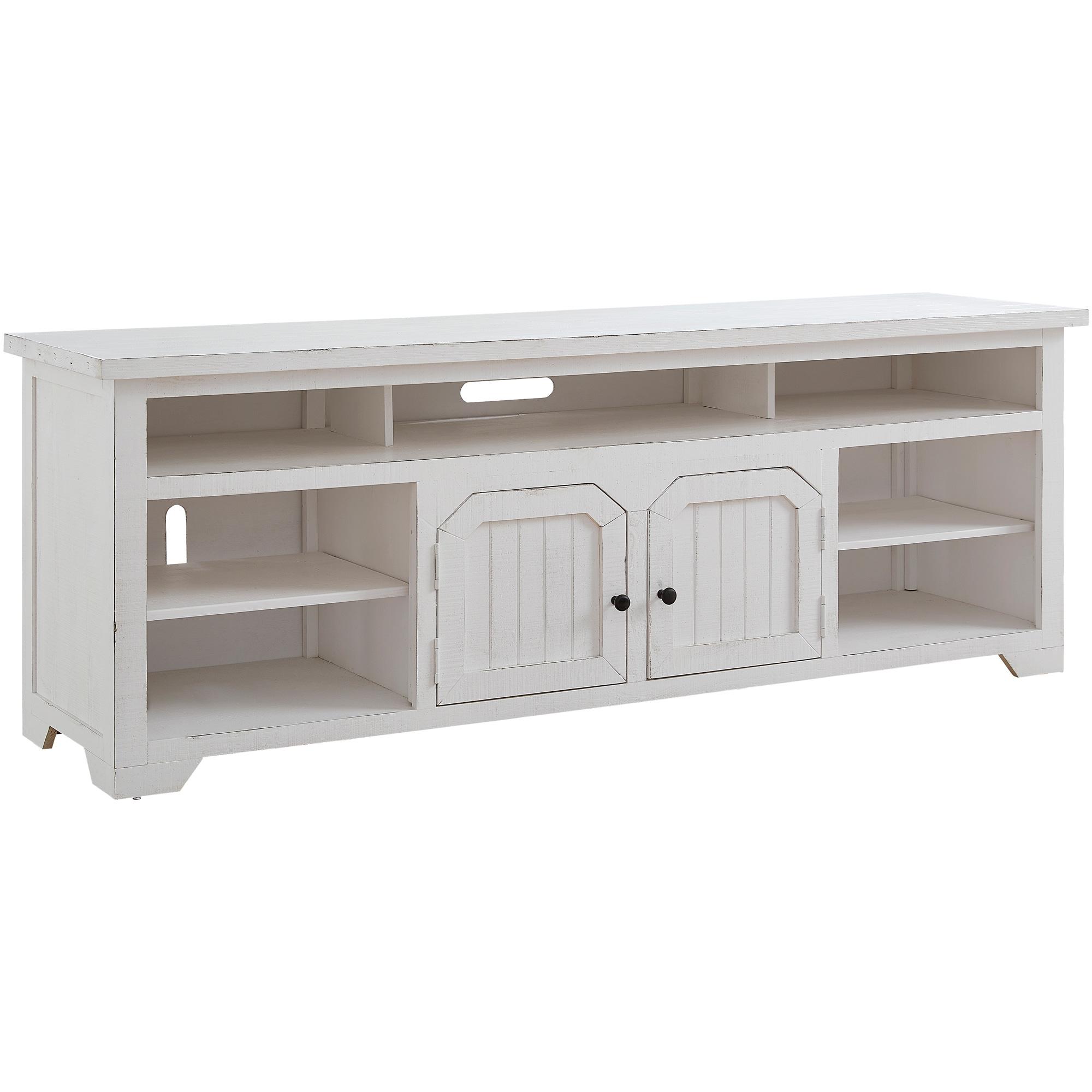 """Progressive Furniture Inc. | Elmhurst White 80"""" Console Table"""