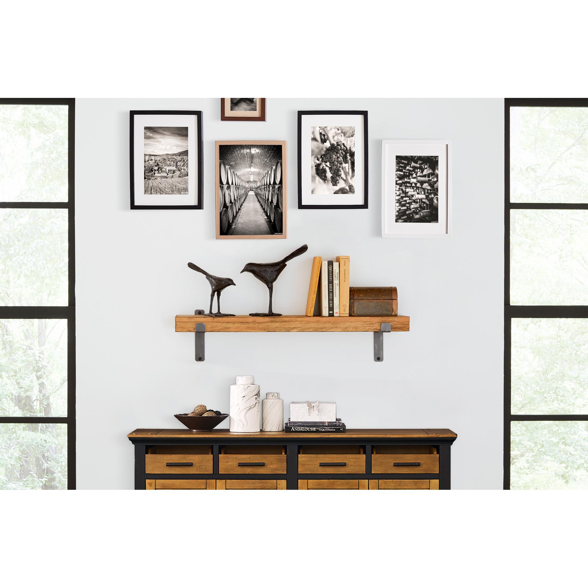 """Martin Furniture | Vintage Honey 36"""" Wall Shelf"""