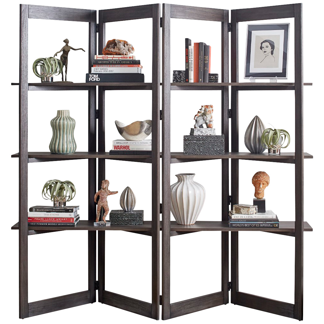 Martin Furniture | Townwood Dark Brown Room Divider