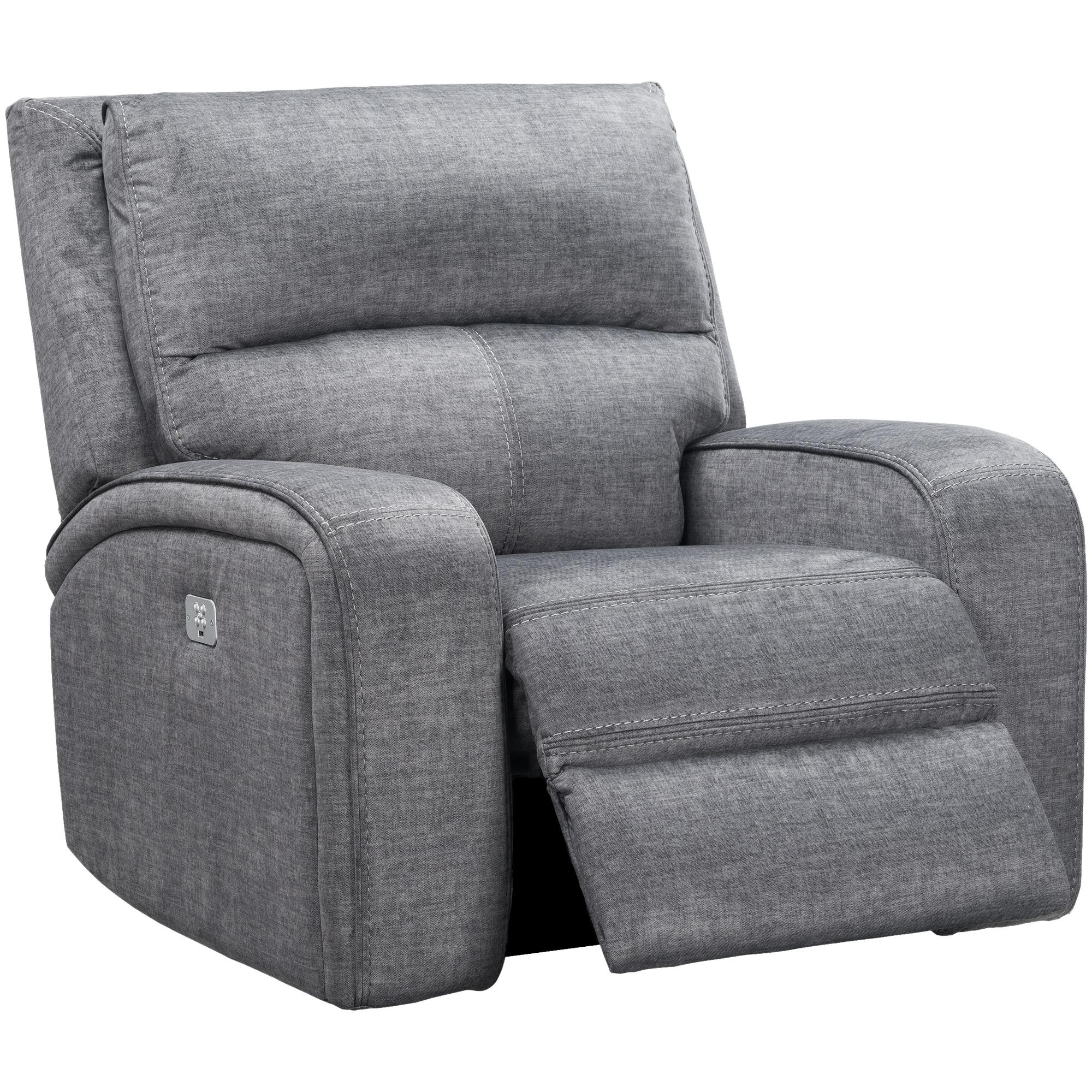 Wah Cheers | Cordova Charcoal Power+ Recliner Chair