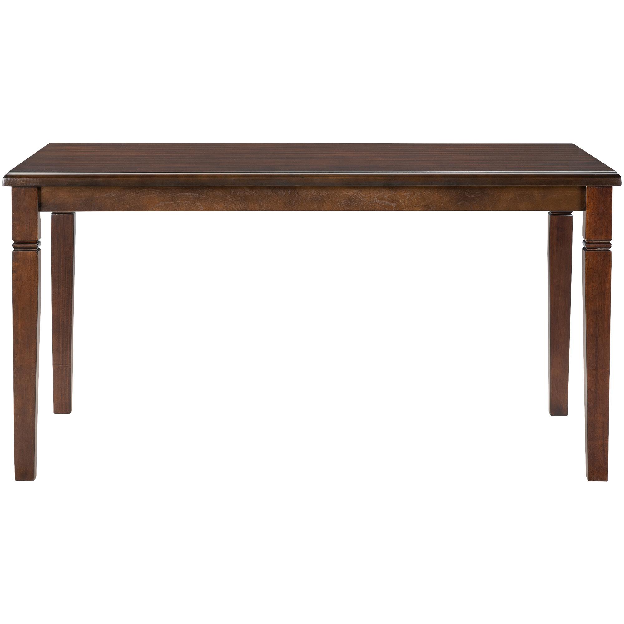 Home Elegance | Durham Espresso Dining Table | Dark Brown