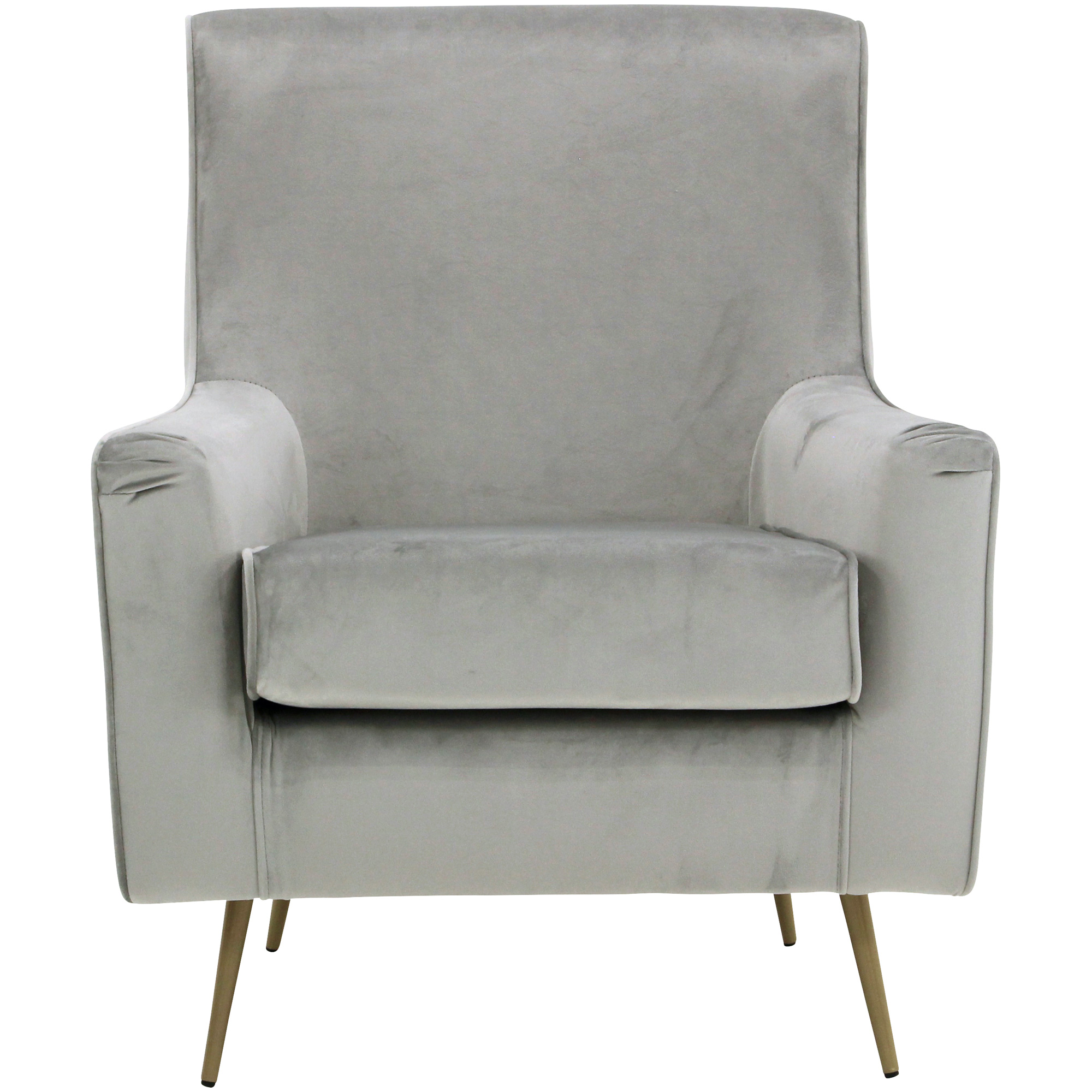 Overman | Lana Pewter Accent Chair