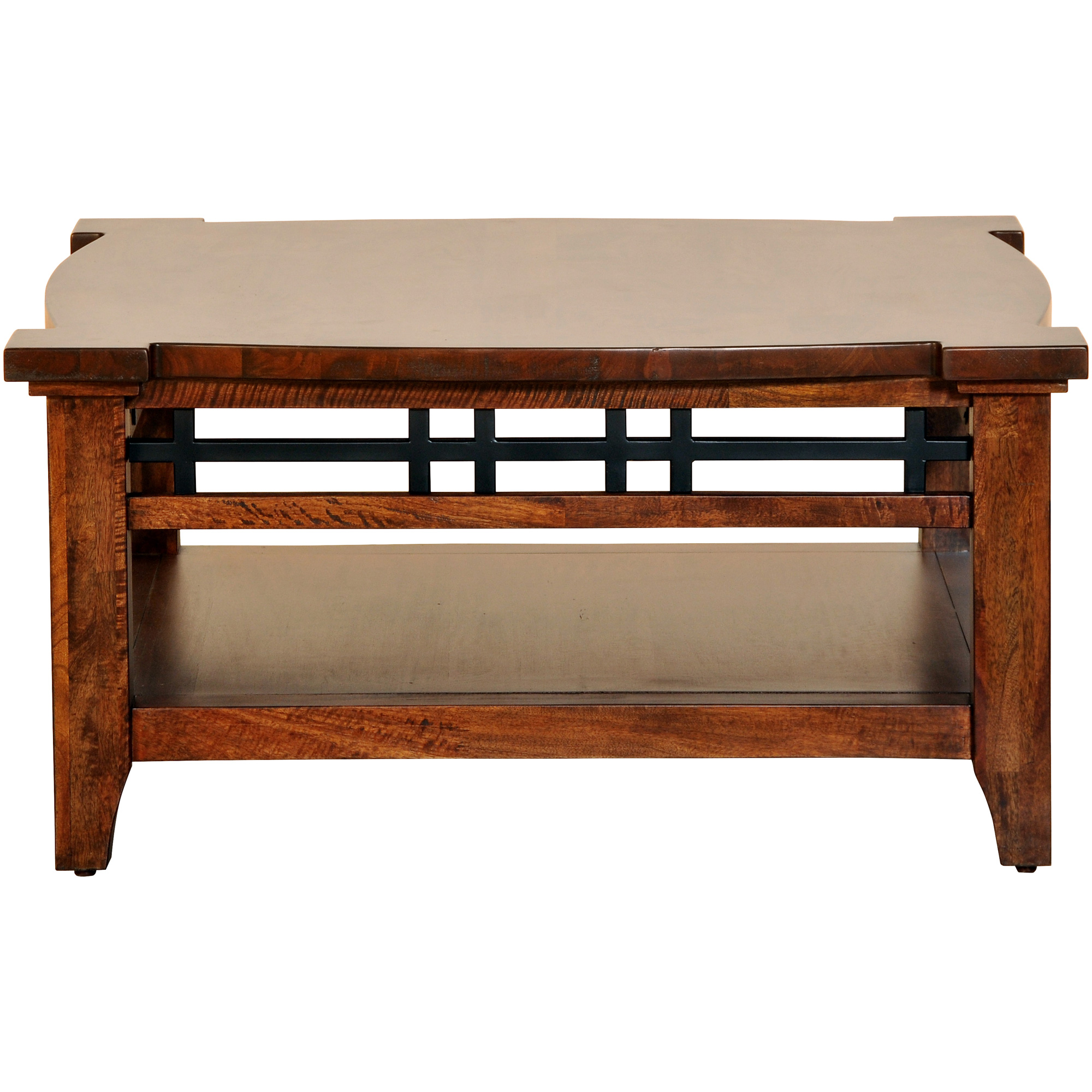 Napa Furniture   Whistler Retreat Dark Walnut Square Cocktail Table   Mango