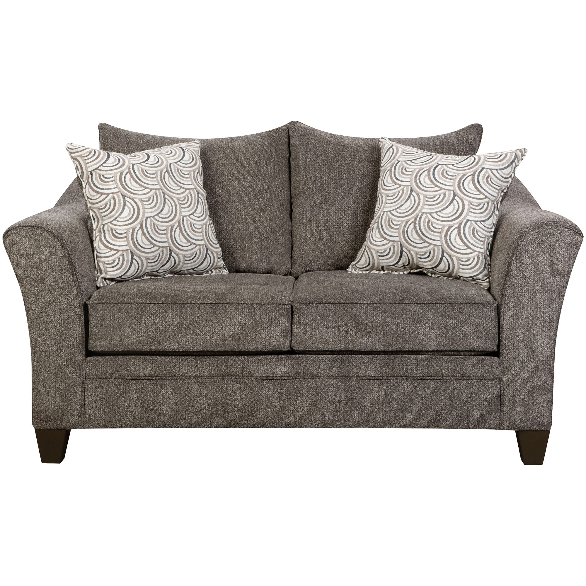 Lane Home Furnishings | Dash Pewter Loveseat Sofa