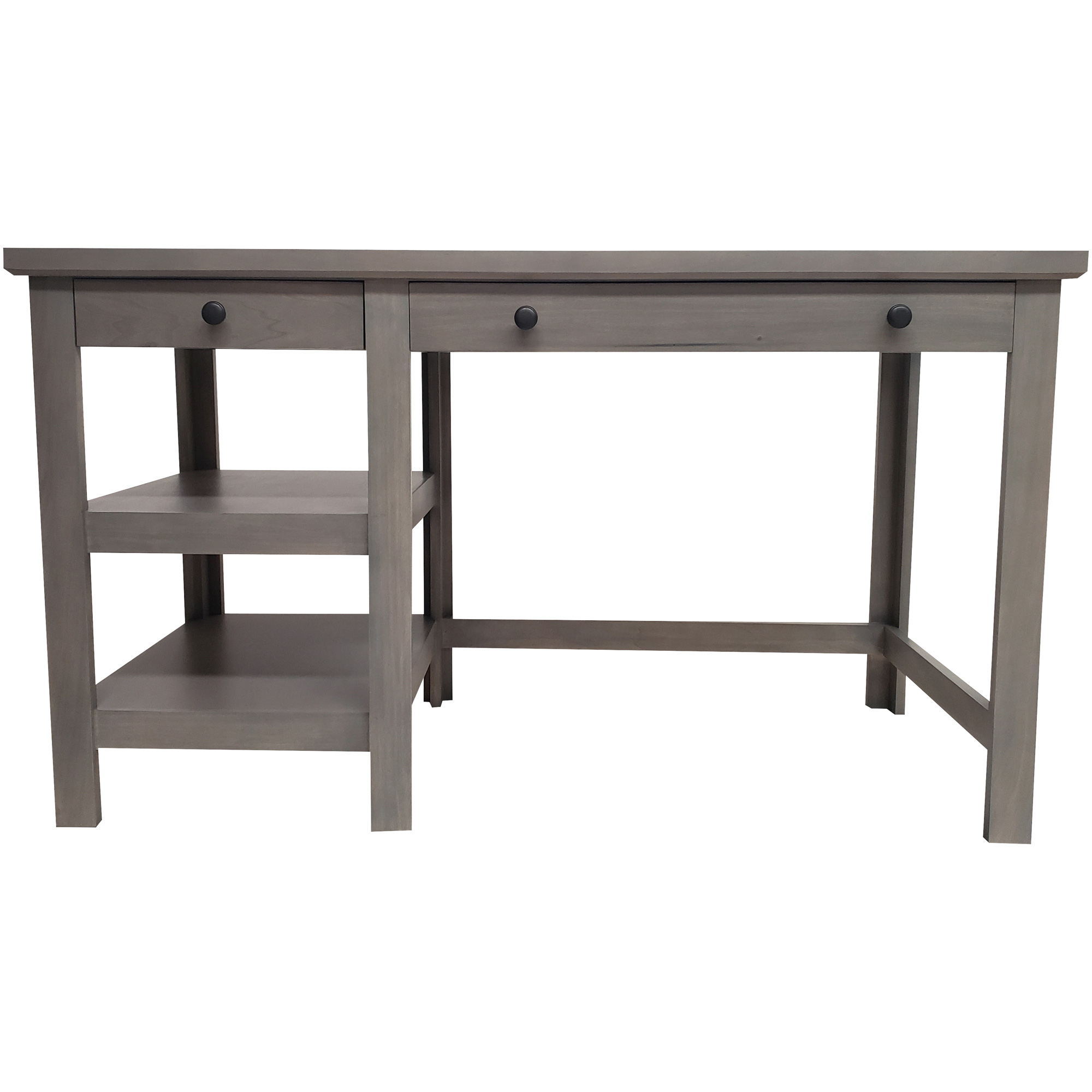 Kurio King | Classic Charcoal Writing Desk