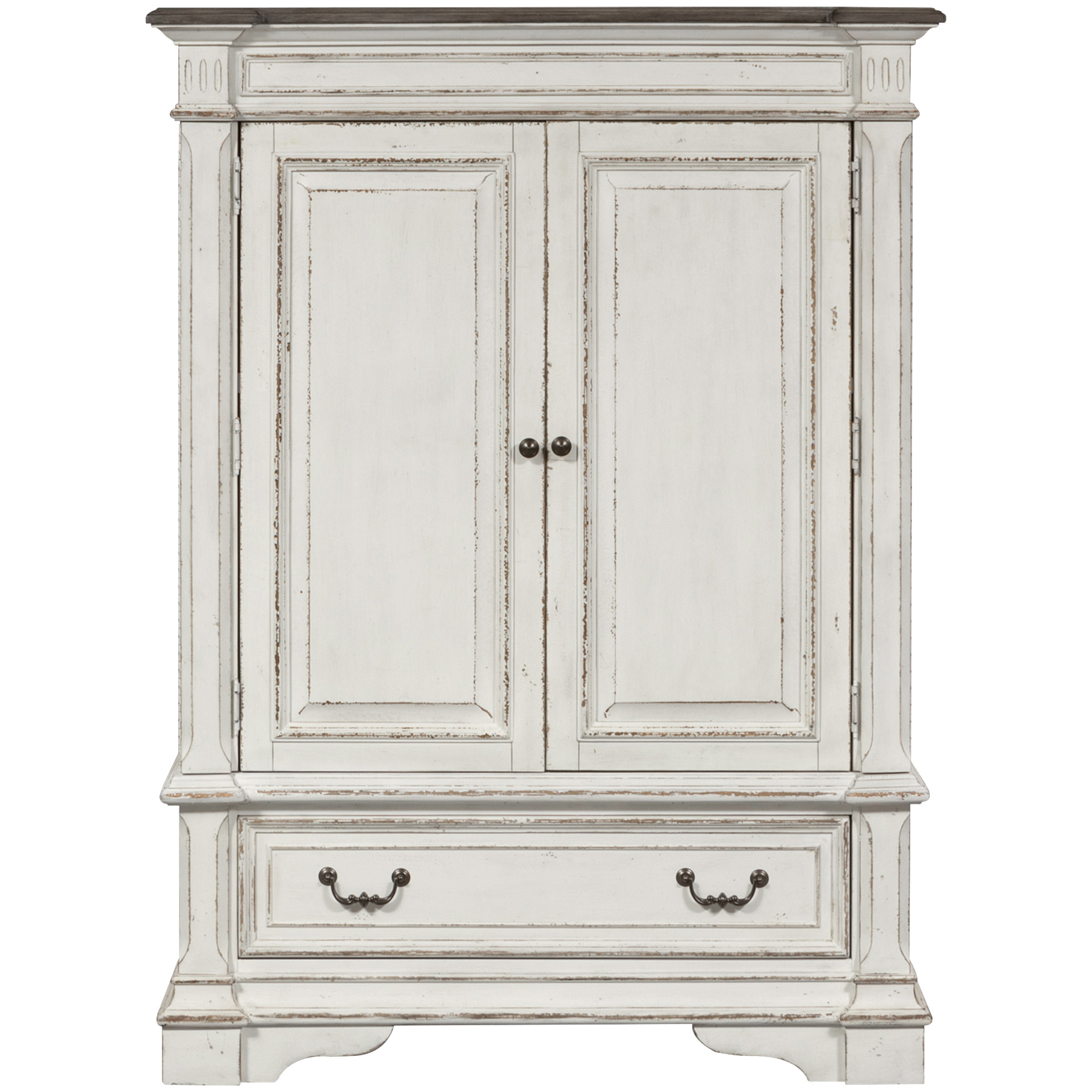 Liberty Furniture | Abbey Park White Wood Door Chest