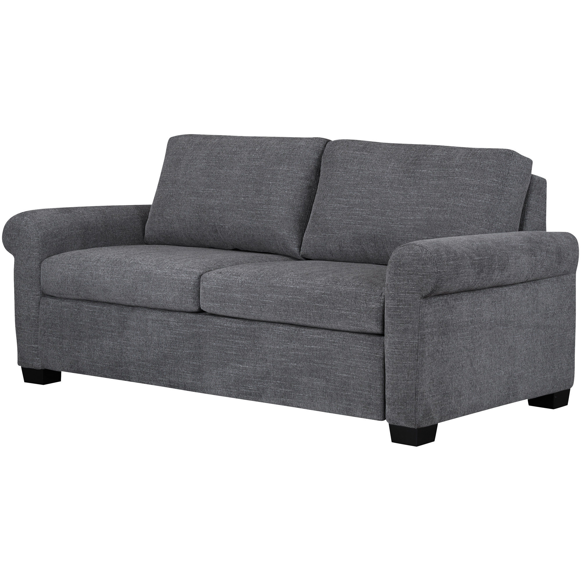American Leather | Cortland Curious Charcoal Queen Sleeper Sofa