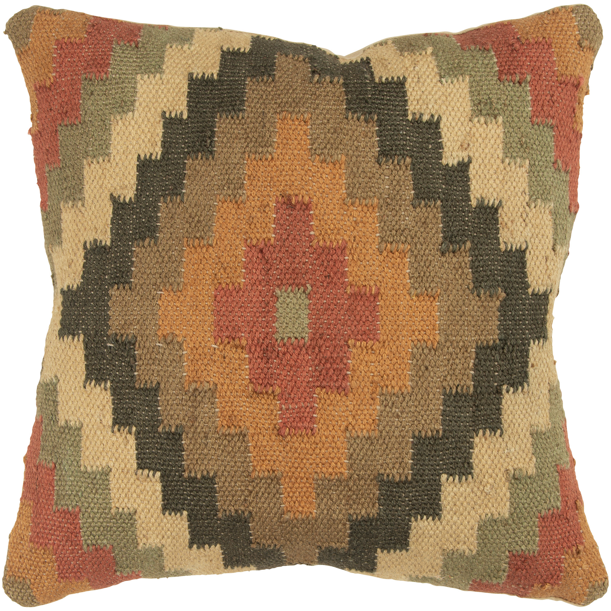 Rizzy Home | Aztec Mission Multicolor Down Pillow