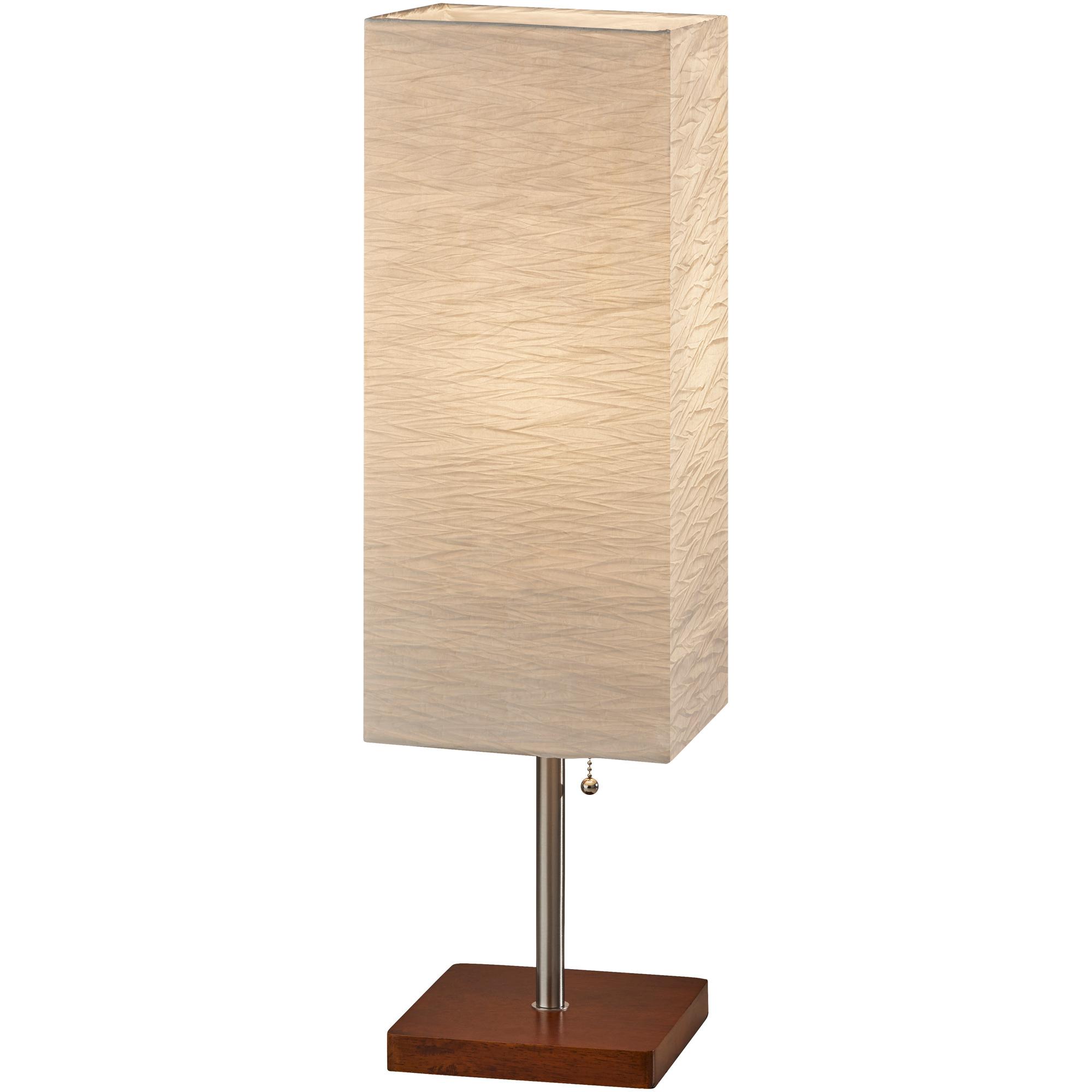 Adesso | Dune Walnut Table Lamp
