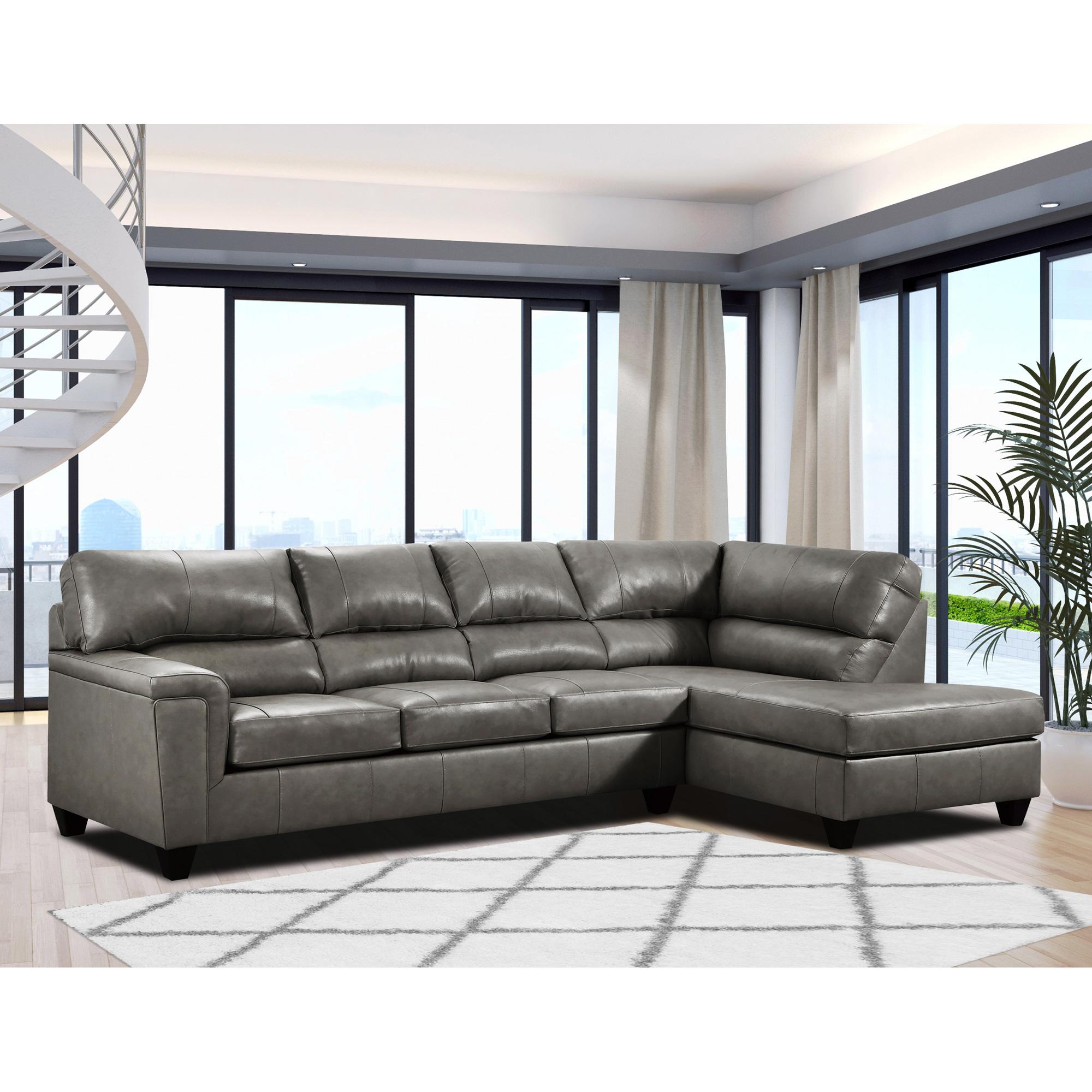 Lane Furniture | Barnes Fog Right Chaise Sectional Sofa