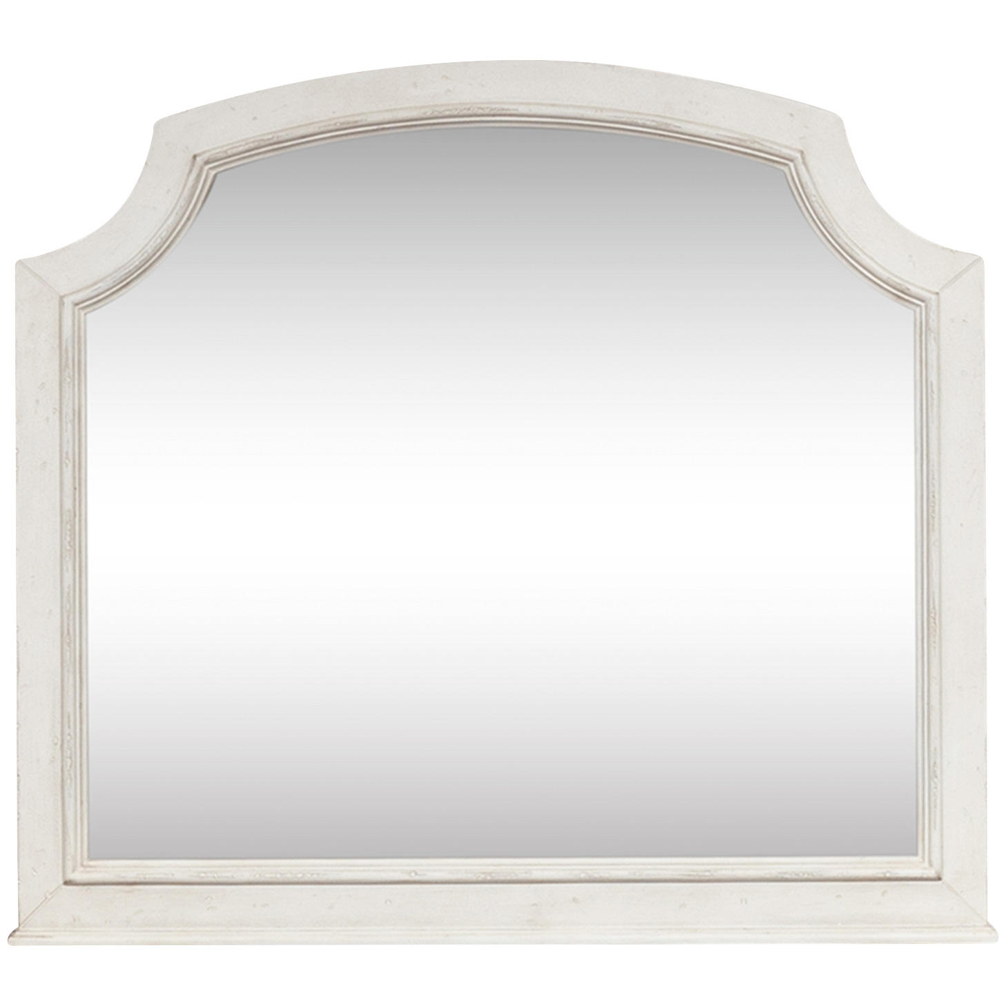 Liberty Furniture | Abbey Road White Arched Mirror