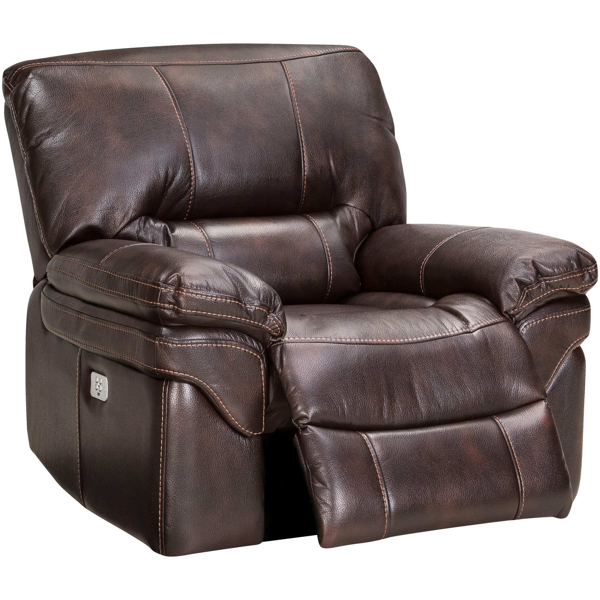Wah Cheers | Valdez Brown Power+ Recliner Chair