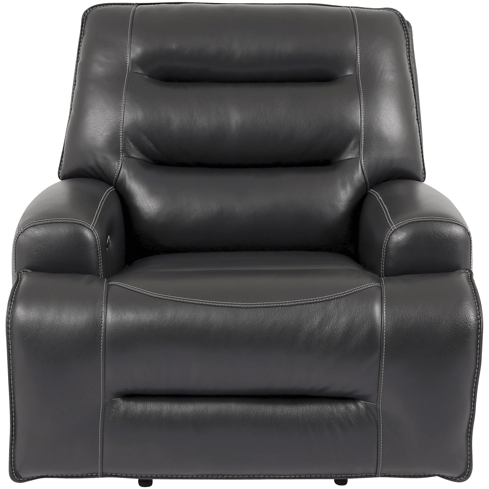 Wah Cheers | Triton Gray Power+ Recliner Chair