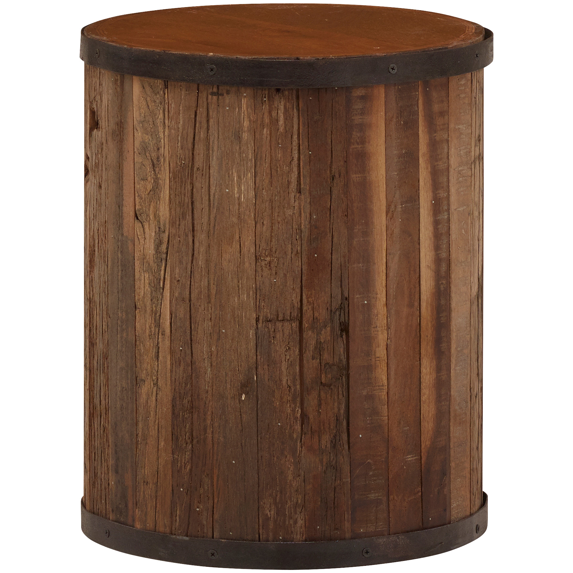 Jaipur Home LLC | Accent Collection Brown Reclaimed Stool