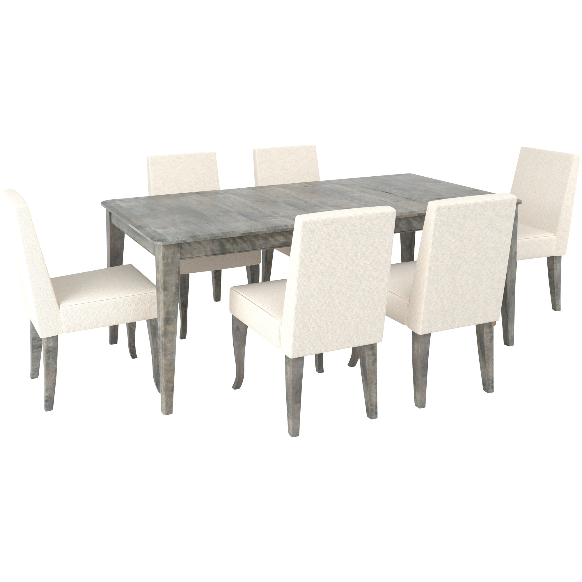 Canadel Furniture | Malibu Off White 5 Piece Dining Set