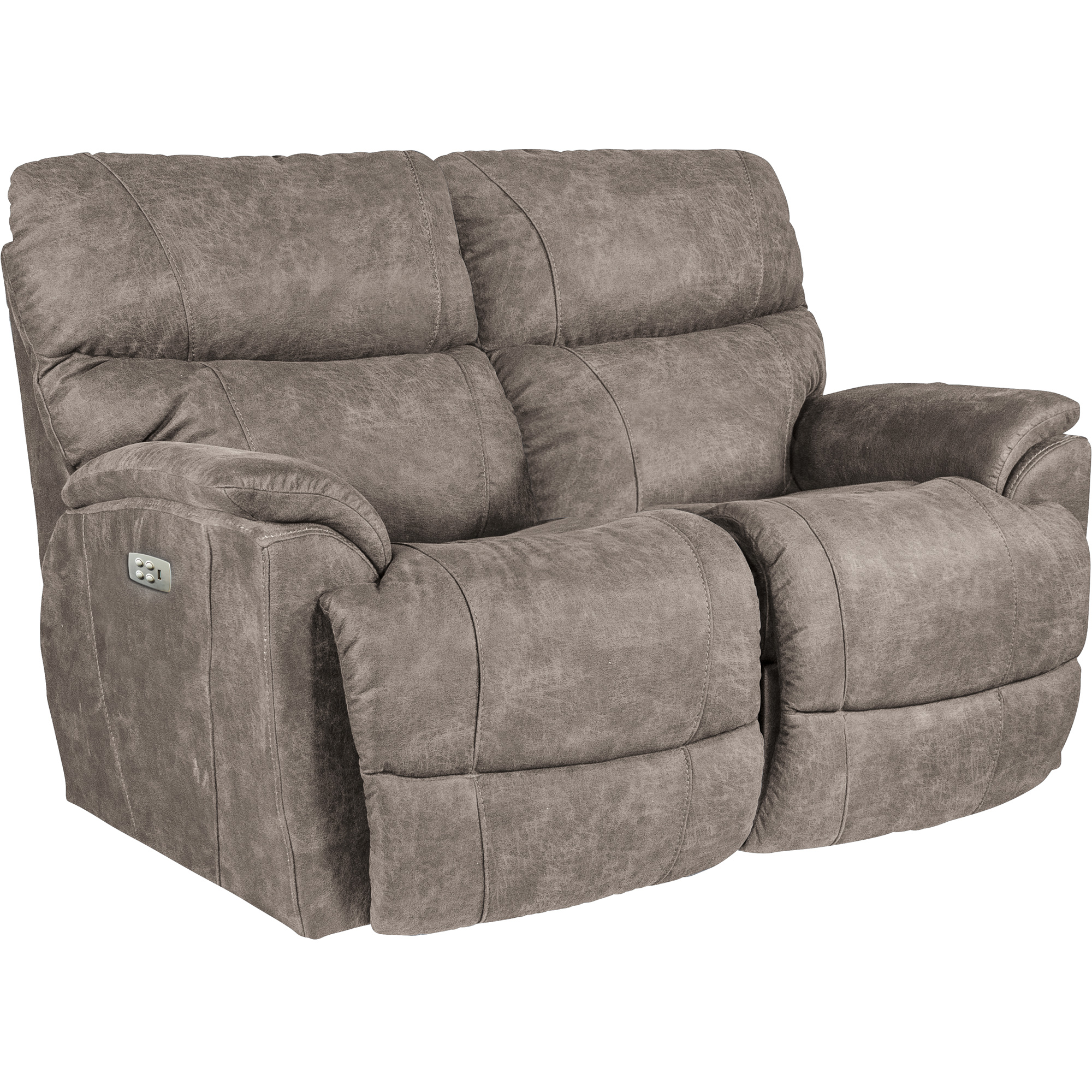La-Z-Boy | Trouper Sable Power Plus Reclining Loveseat Sofa