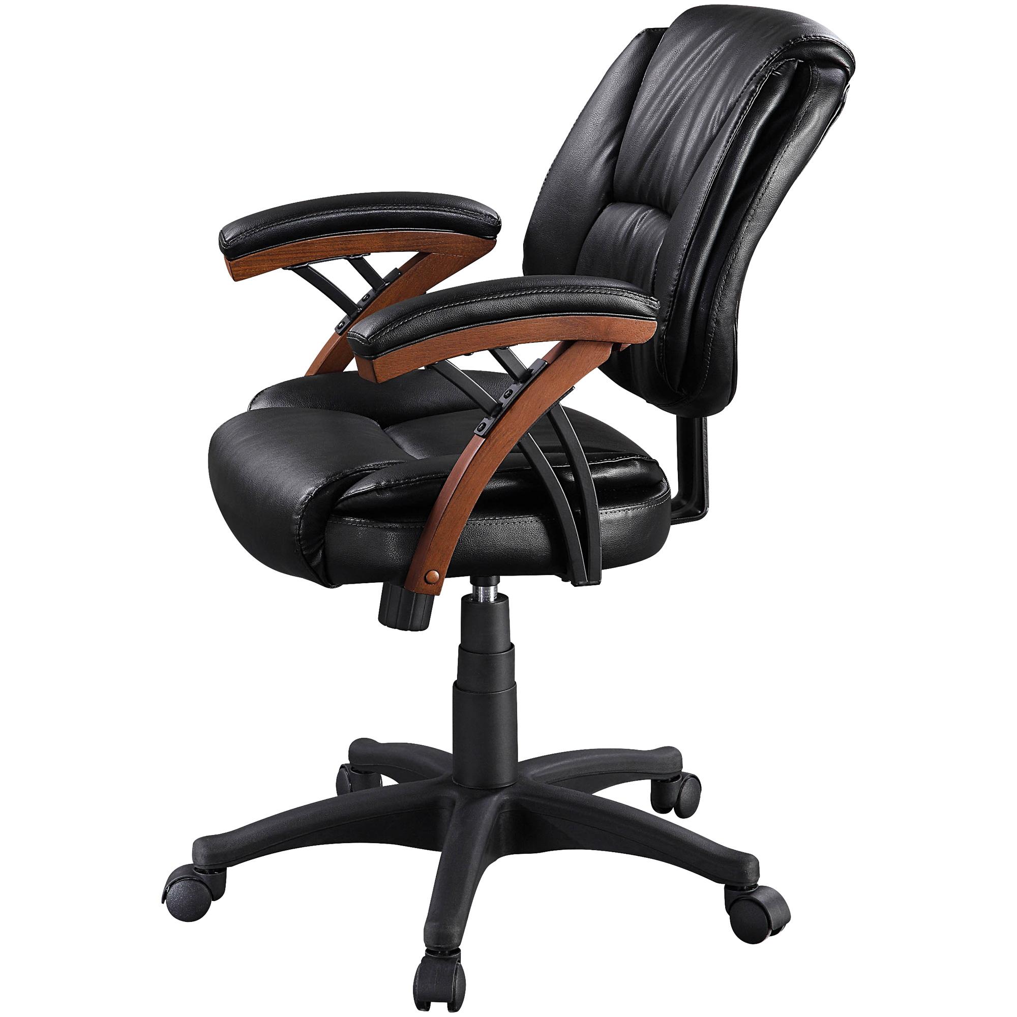 Whalen   Axon Brown Cherry Desk Chair