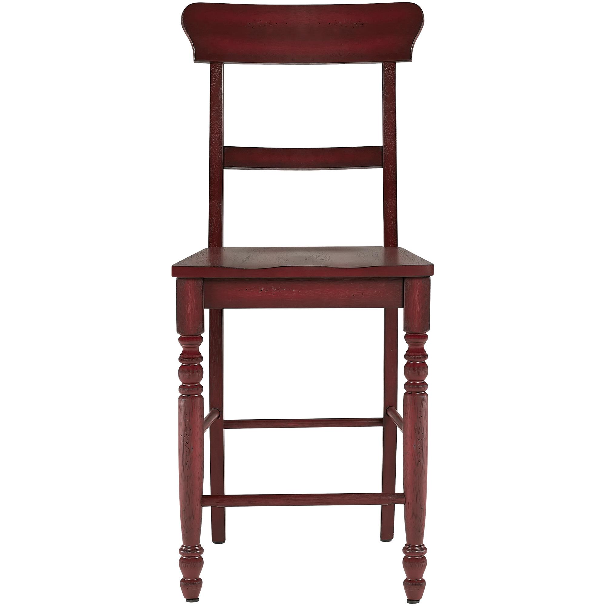 Progressive Furniture Inc. | Savannah Court Antique Red Counter Stool