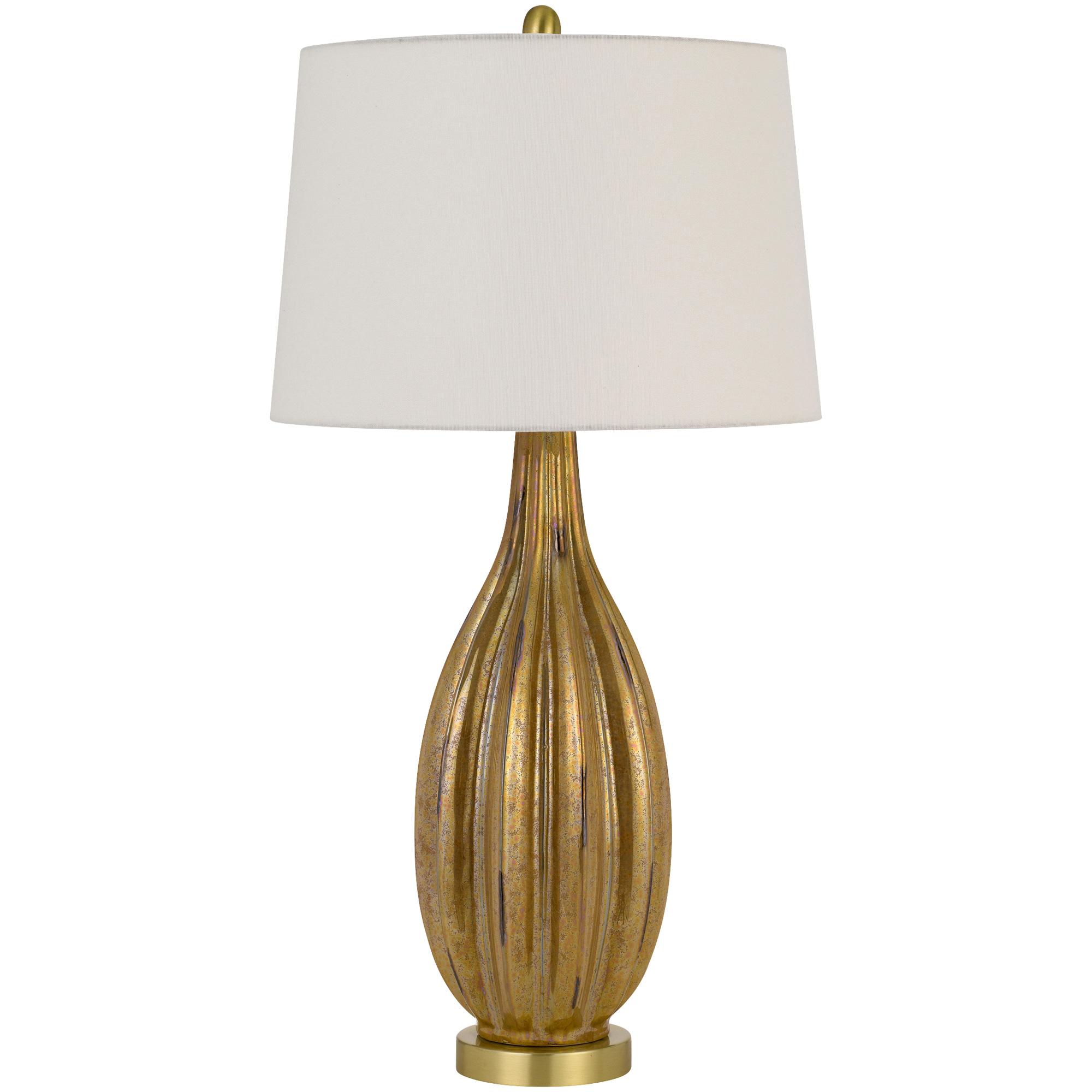 Cal Lighting | Morlaix Gold Table Lamp