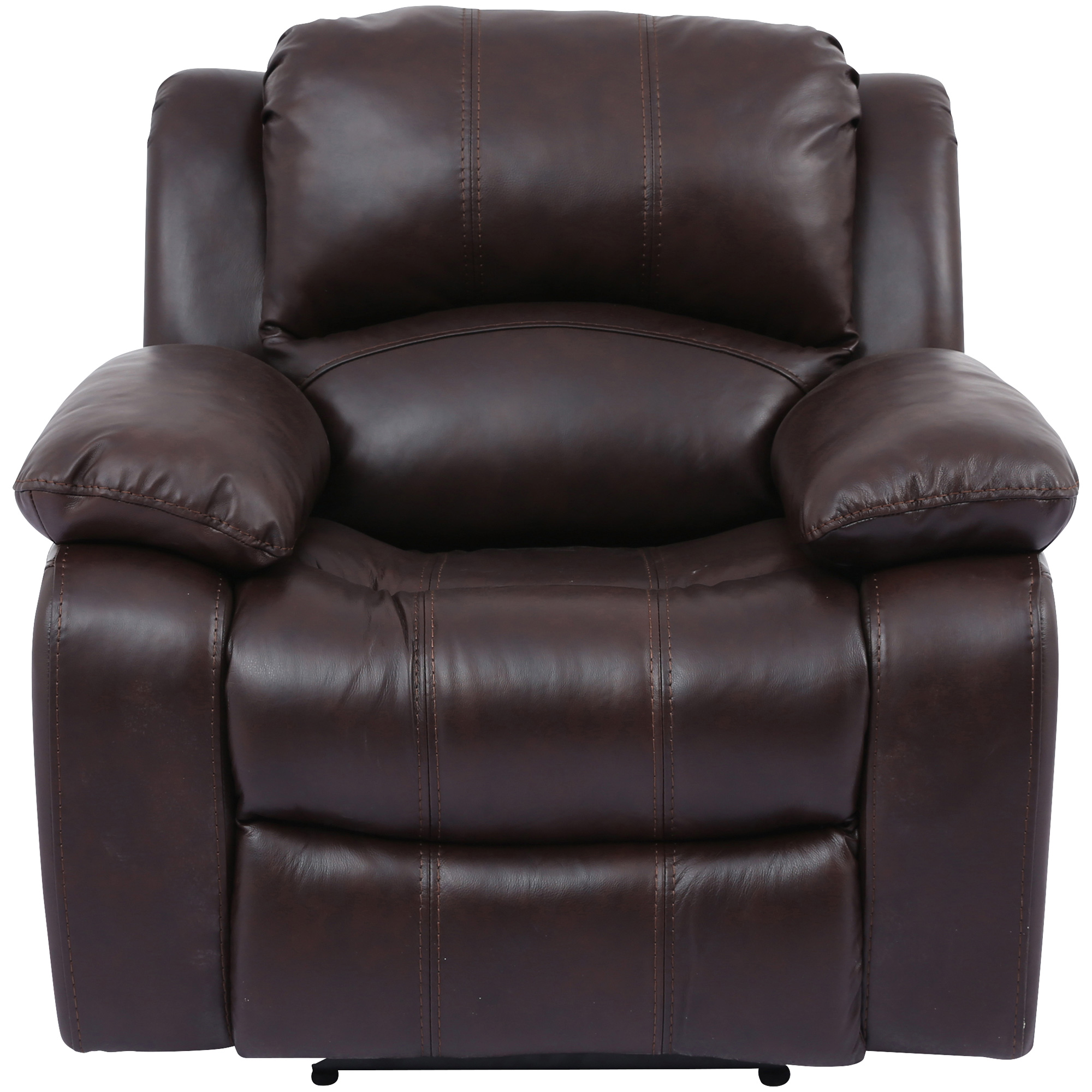 Wah Cheers | Ender Brown Leather Power+ Recliner Chair