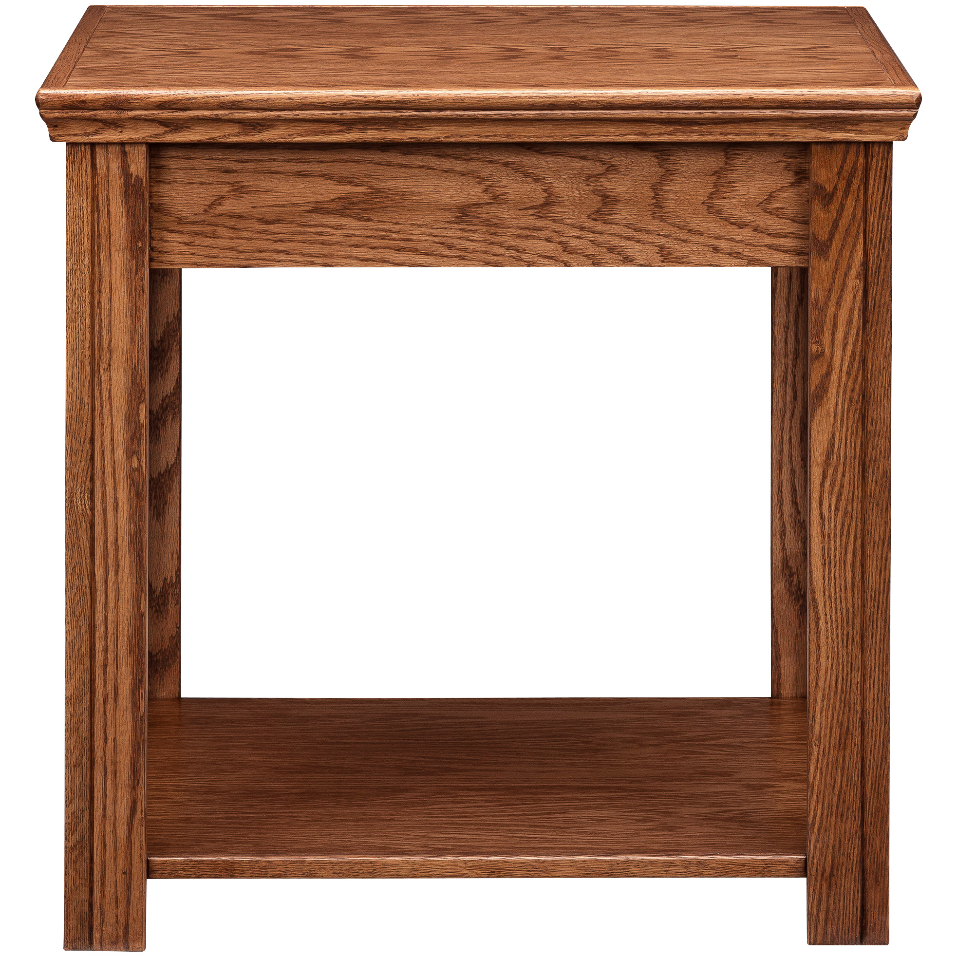 Legends Furniture | Chambers Golden Oak End Table