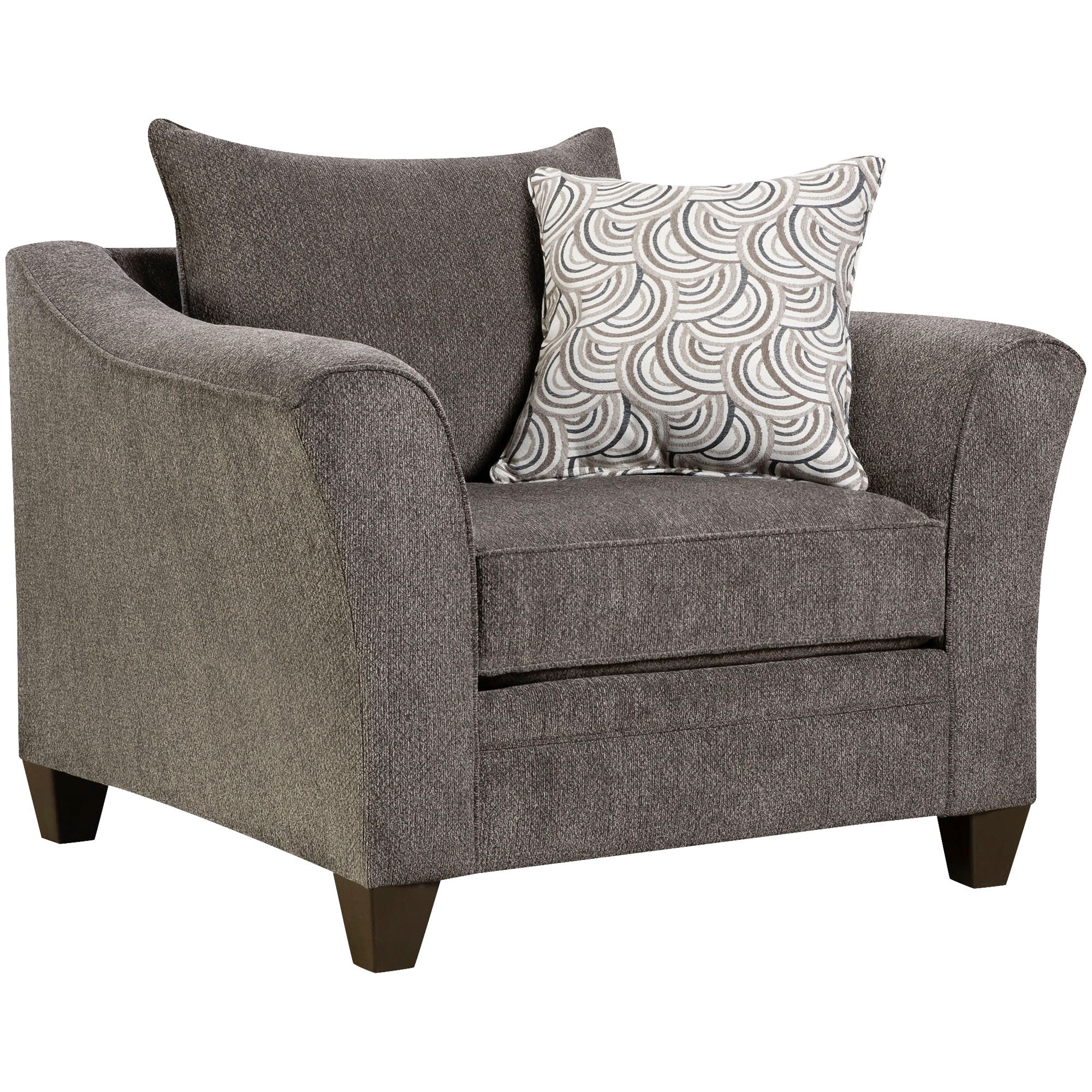 Lane Home Furnishings | Dash Pewter Chair