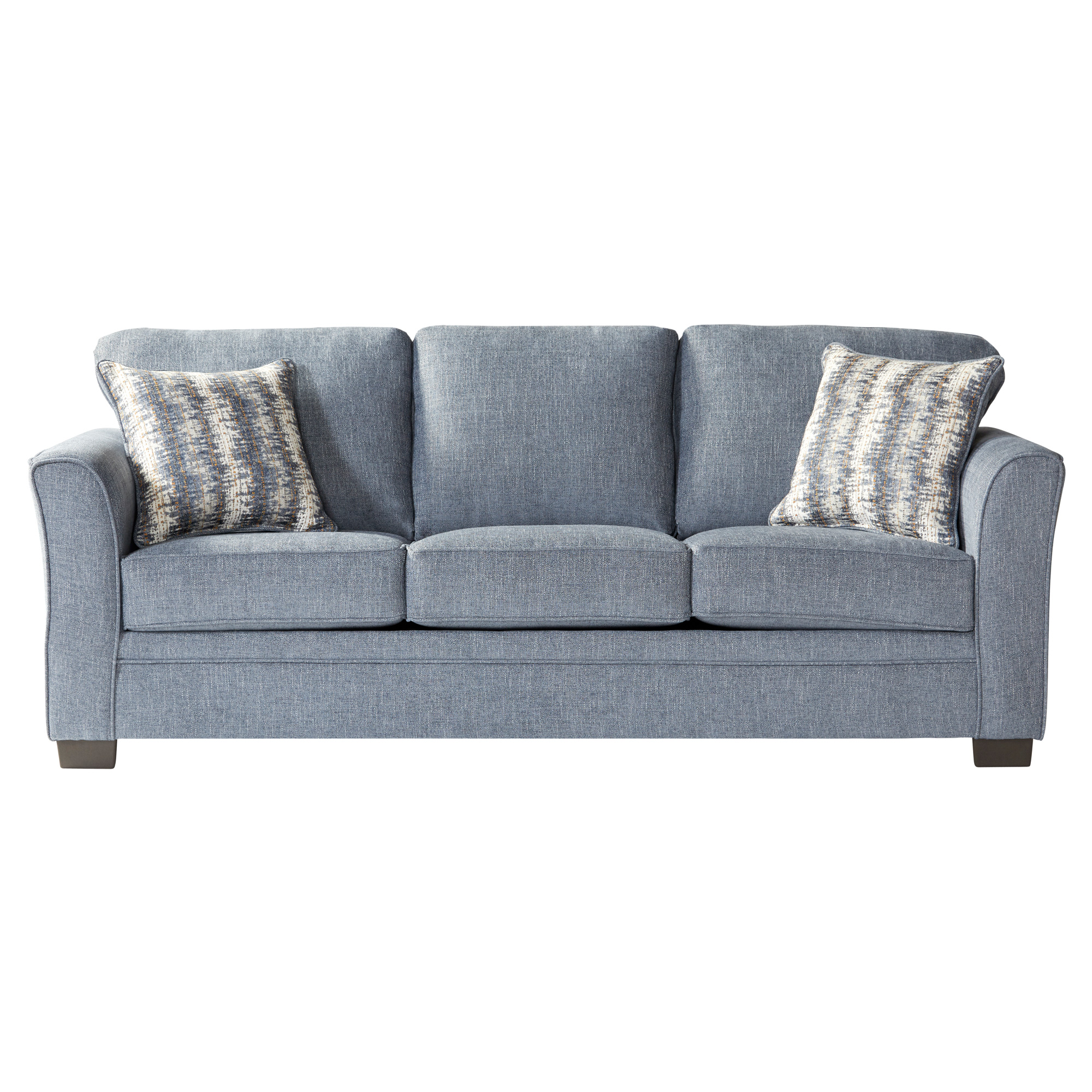 Serta Upholstery By Hughes Furniture | Bolster Ocean Queen Sleeper Sofa
