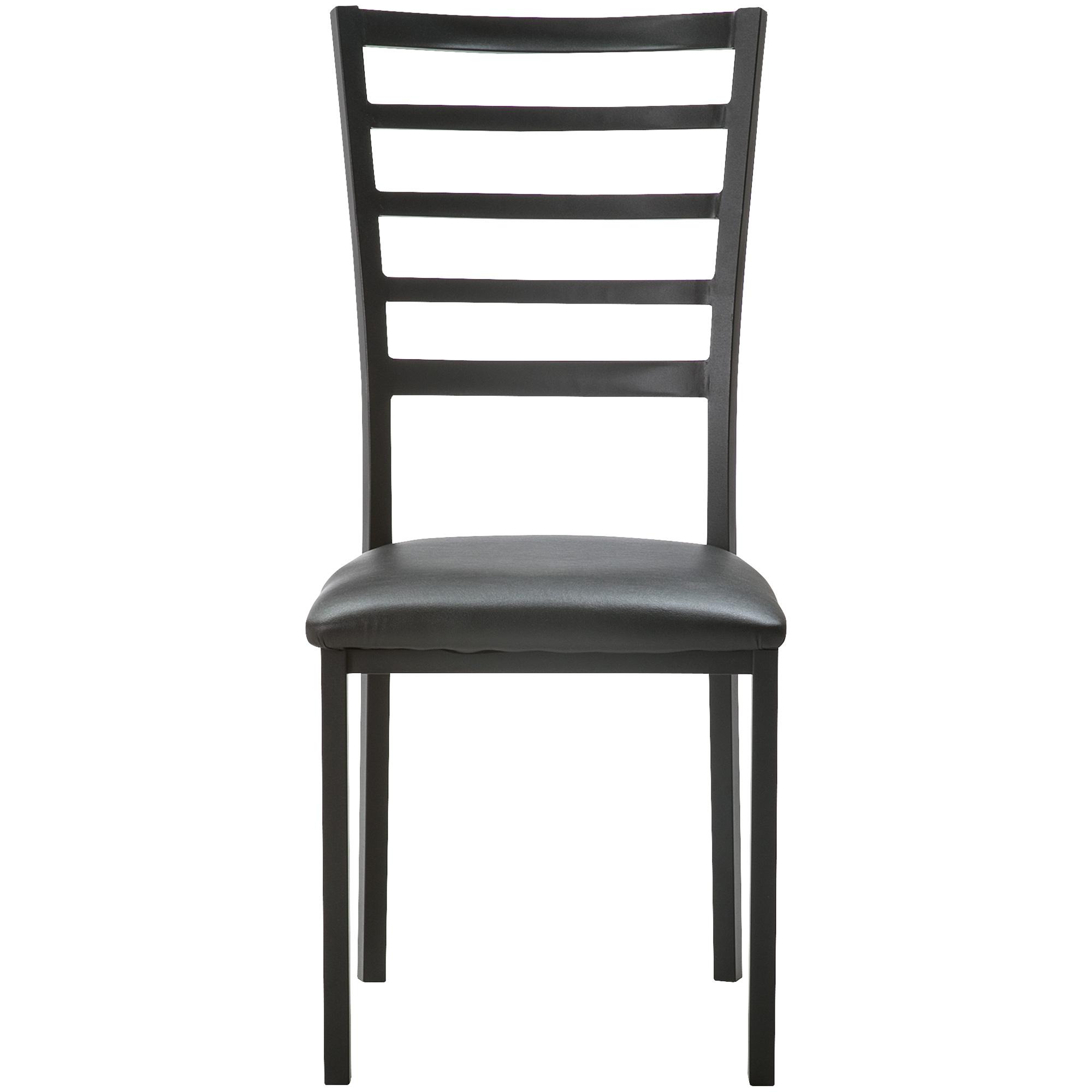 Home Elegance | Ivory Coast Black Side Chair