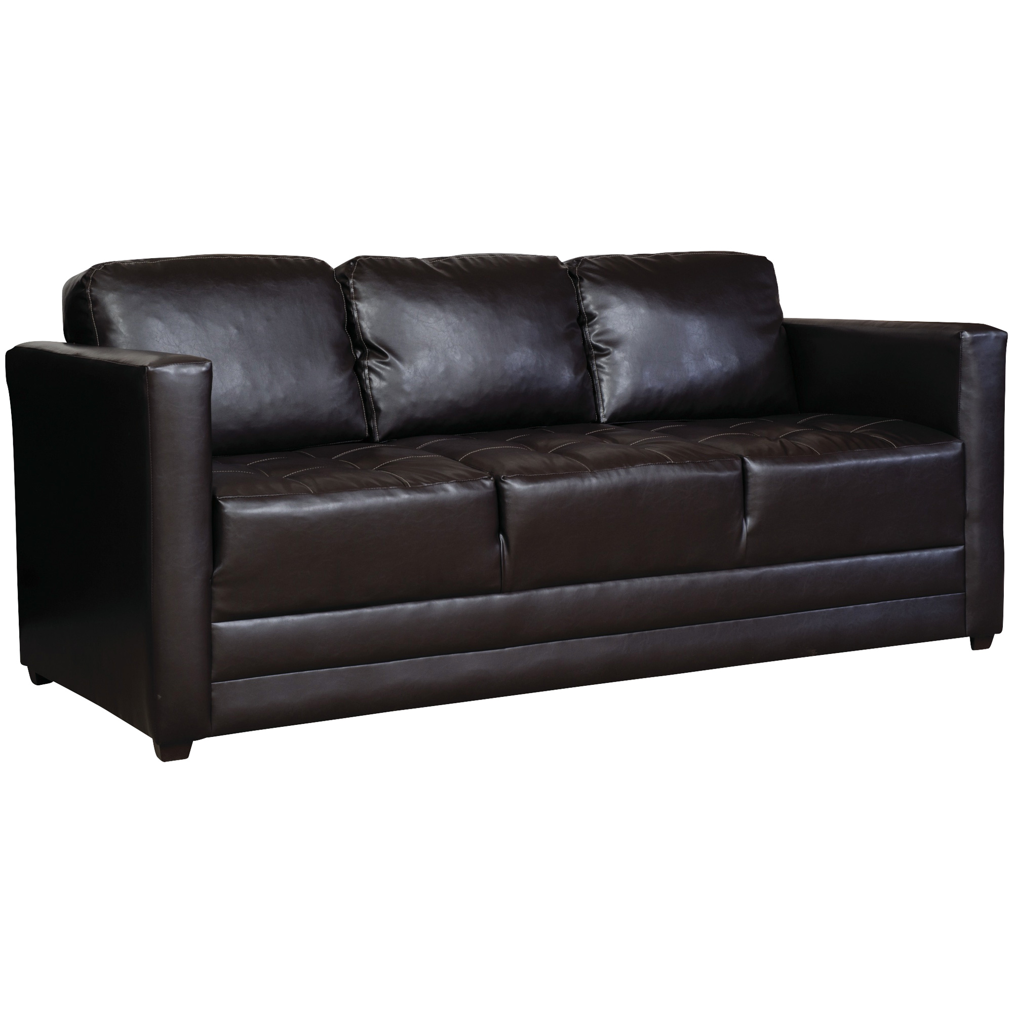 Serta Upholstery By Hughes Furniture | Burton Chocolate Sofa