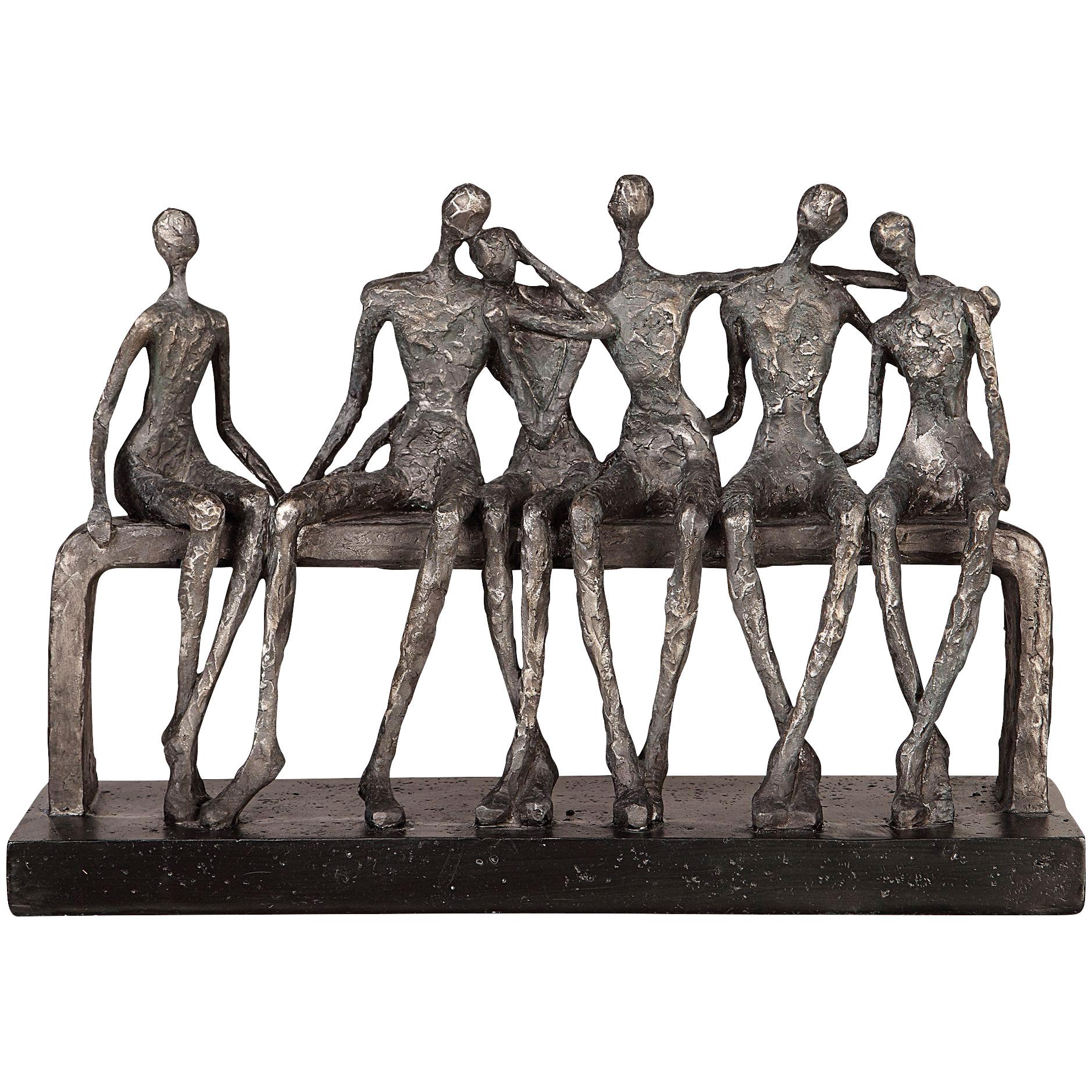 Uttermost | Camaraderie Silver Figurine