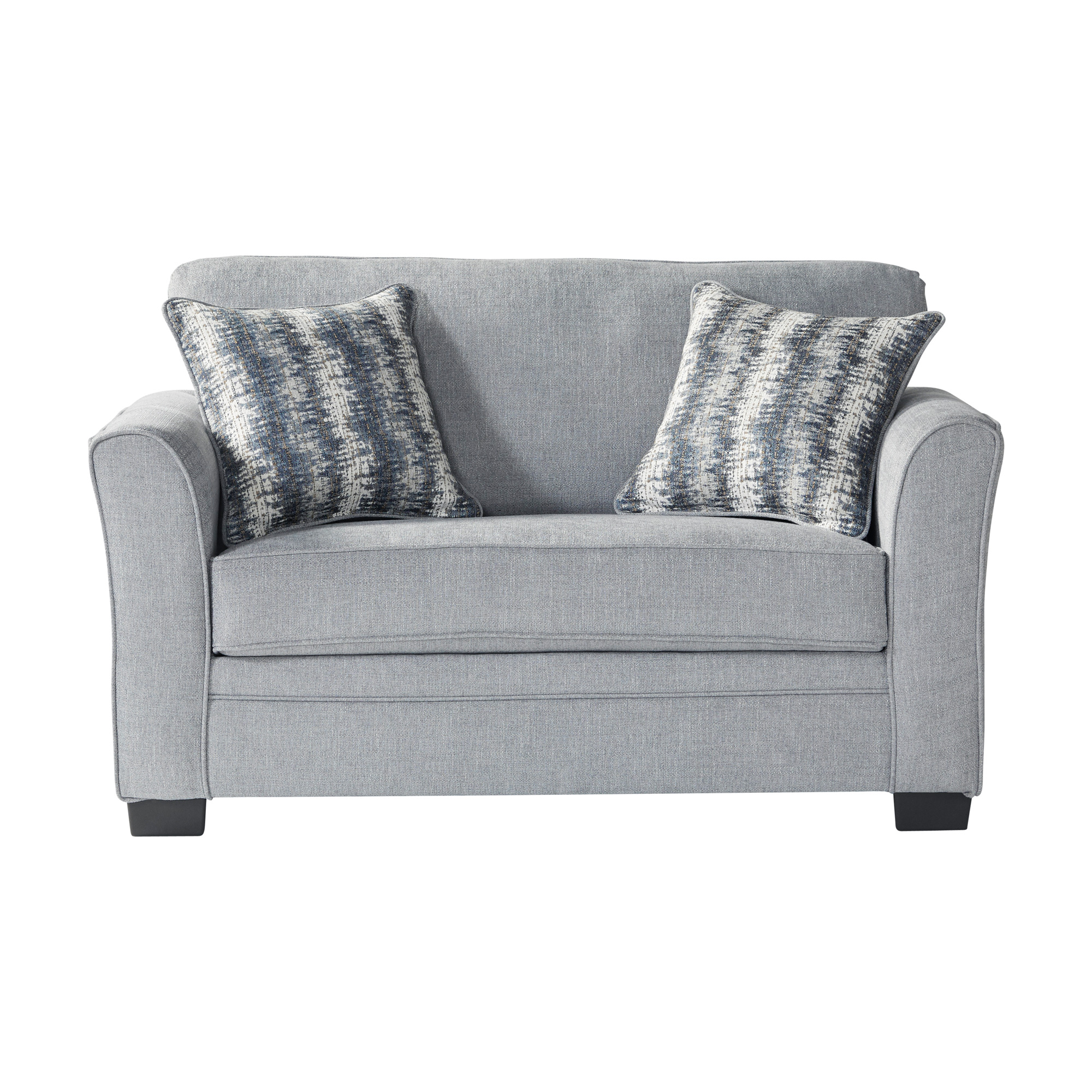 Serta Upholstery By Hughes Furniture | Bolster Mist Twin Sleeper Sofa