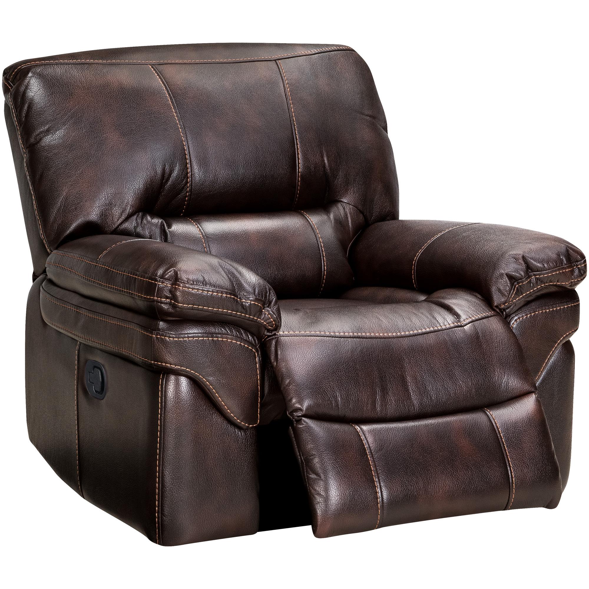 Wah Cheers | Valdez Brown Glider Chair Recliner