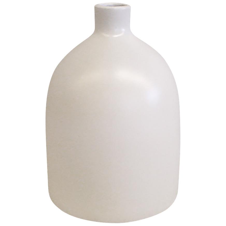 Promart | Terracotta Florero White Large Bottle Vase