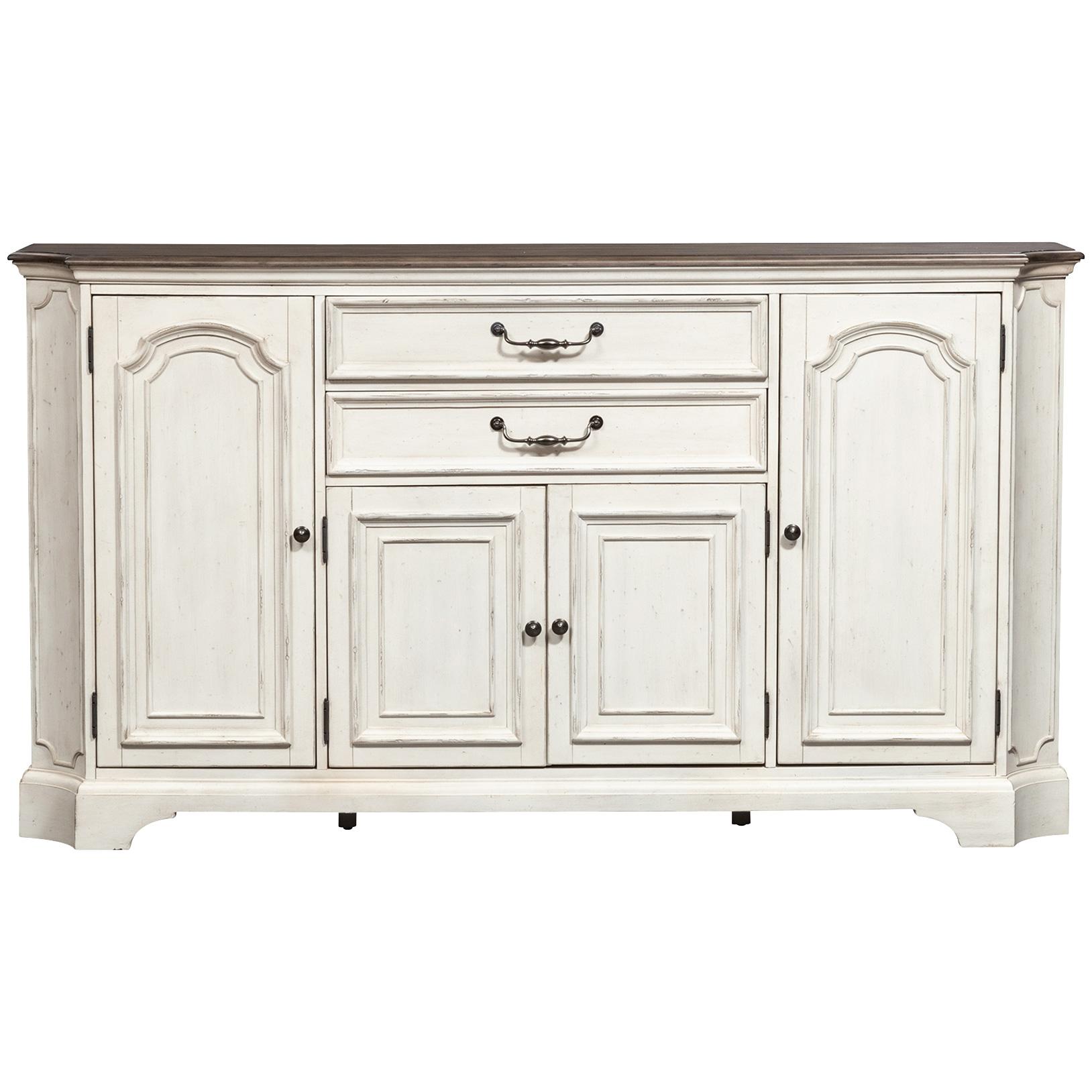 Liberty Furniture | Abbey Road White Hall Buffet